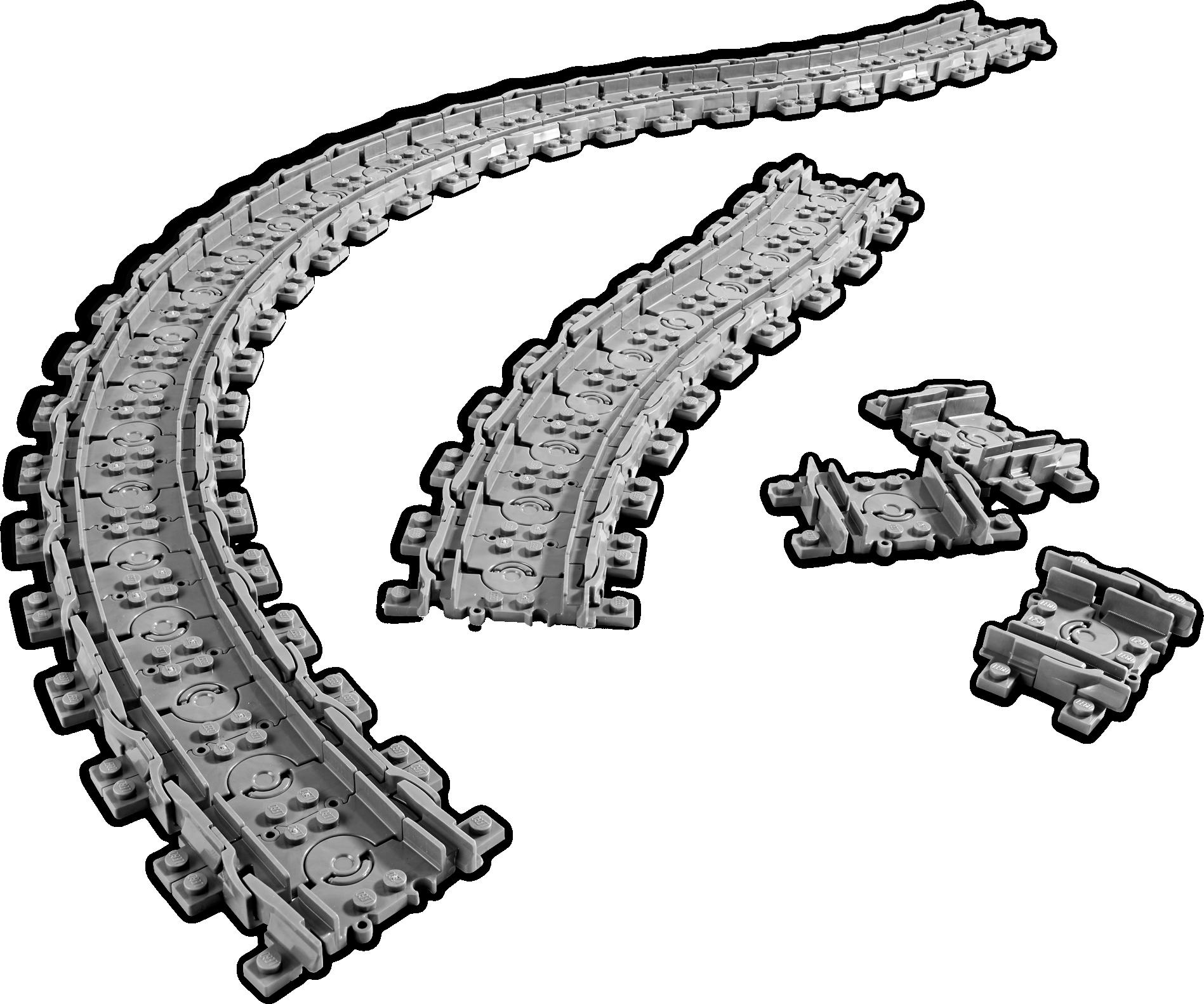 Flexible Train Tracks