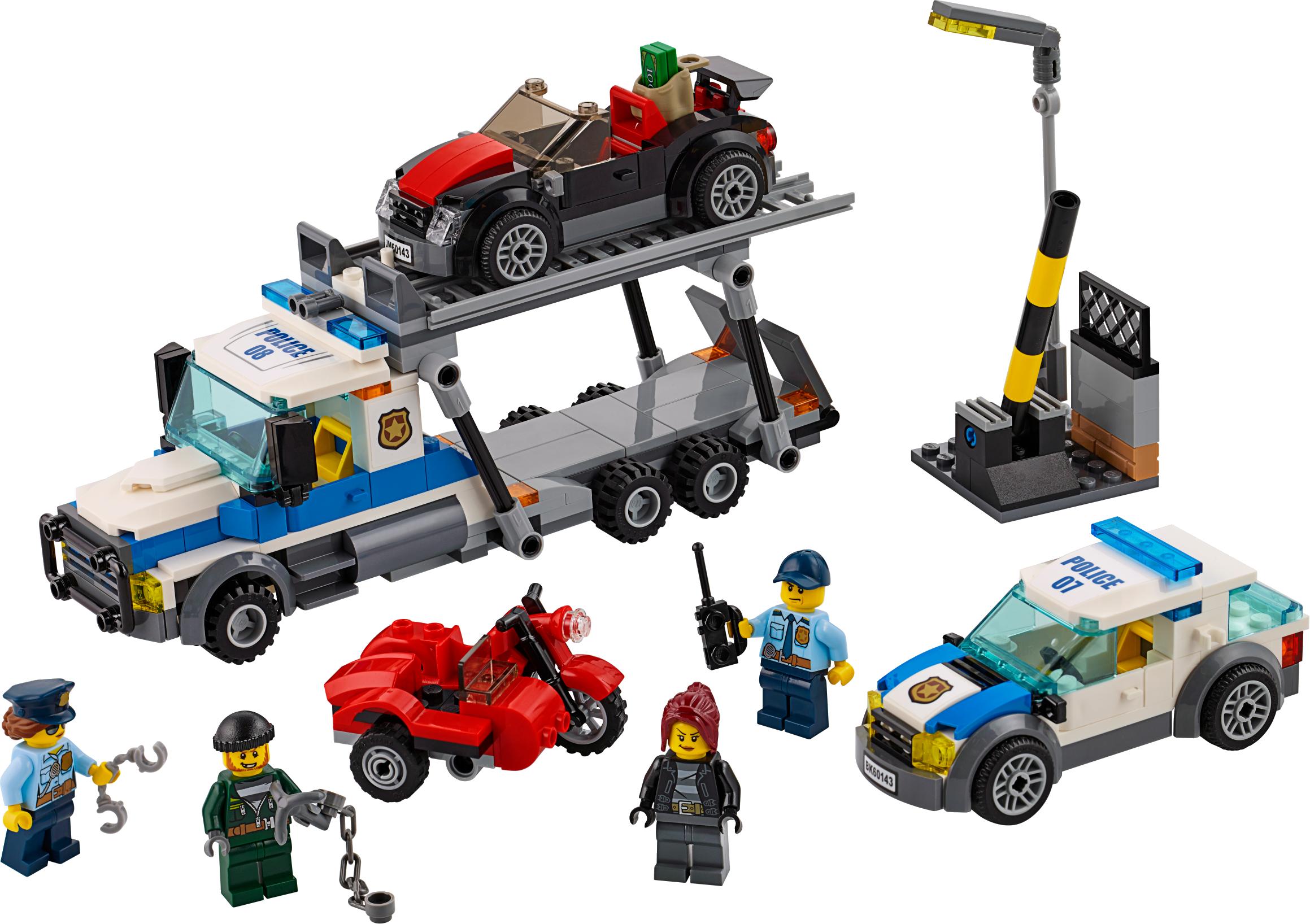 Auto Transport Heist