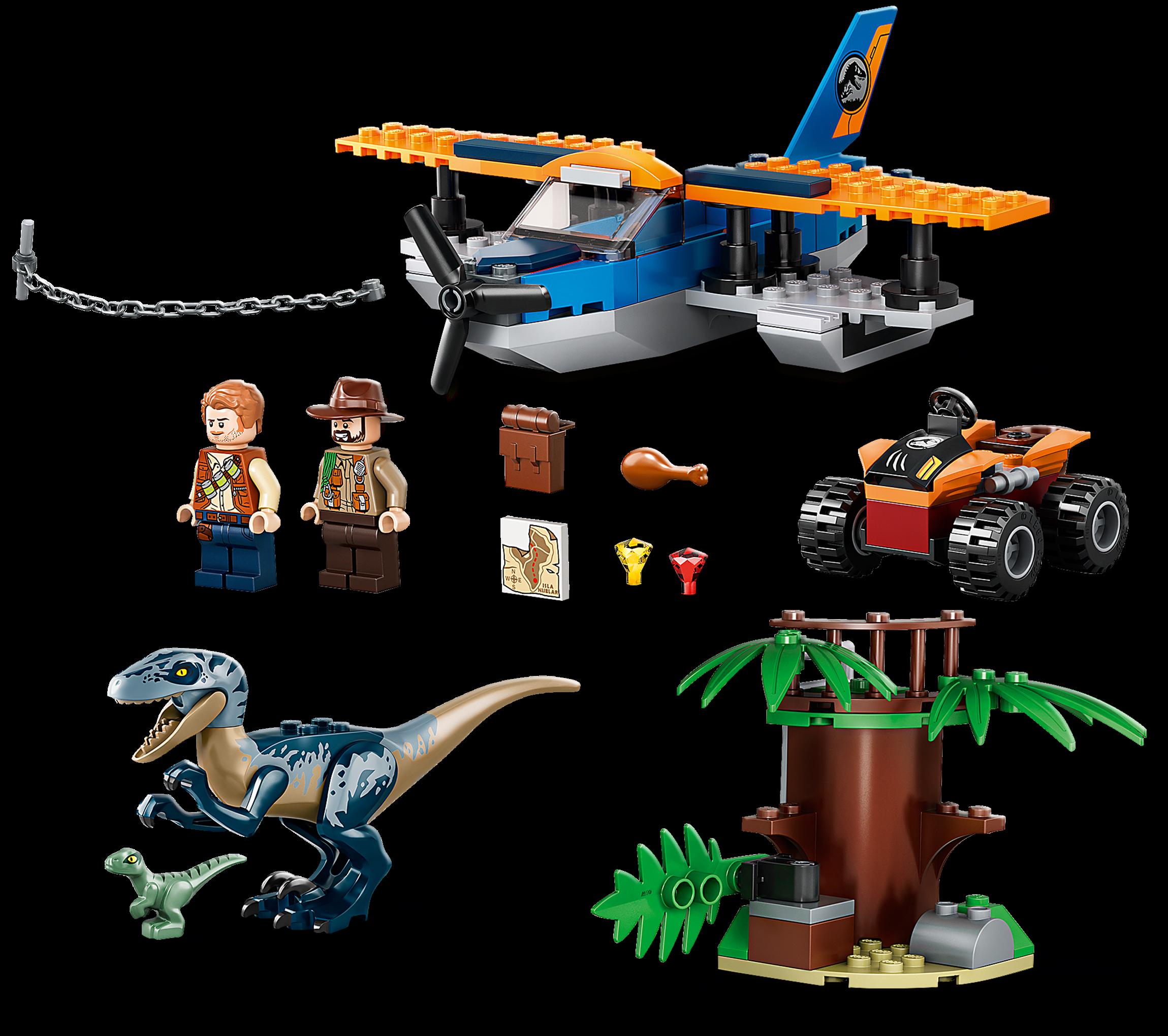 Velociraptor Biplane Rescue Mission