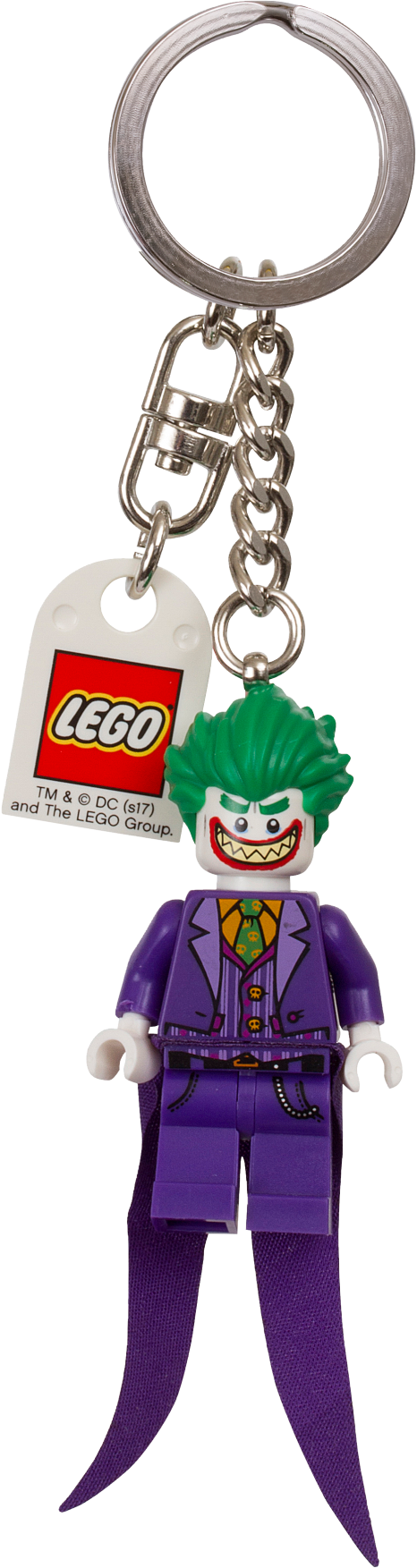 THE LEGO® BATMAN MOVIE The Joker™ Keyring