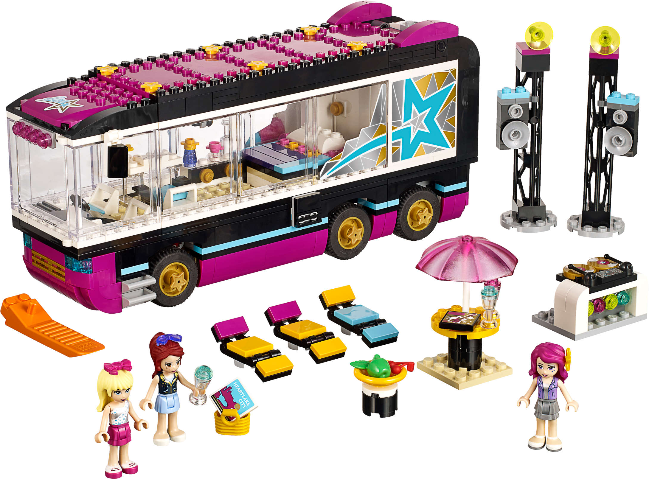 Pop Star Tour Bus