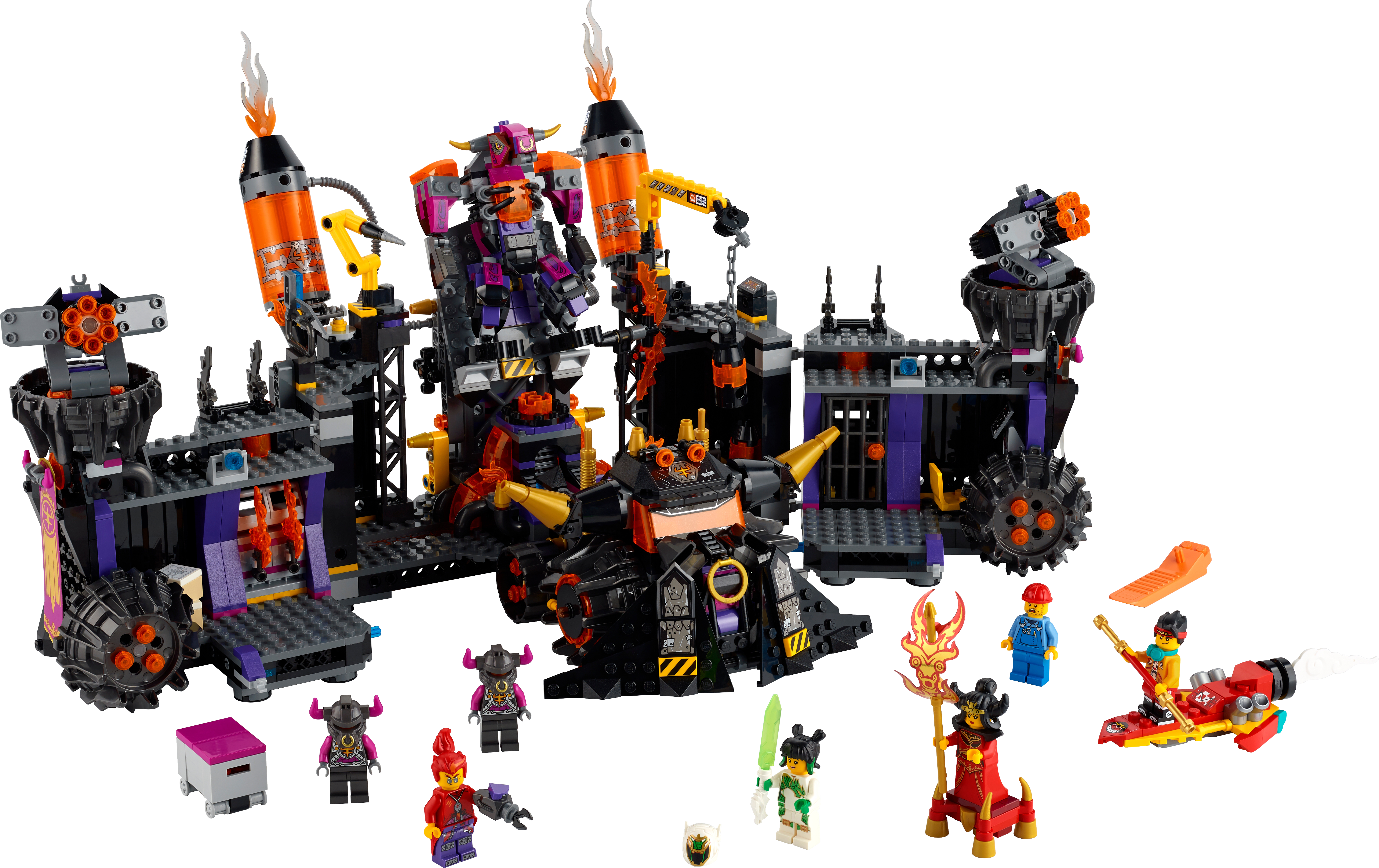 LEGO - Monkie Kid - The Flaming Foundry