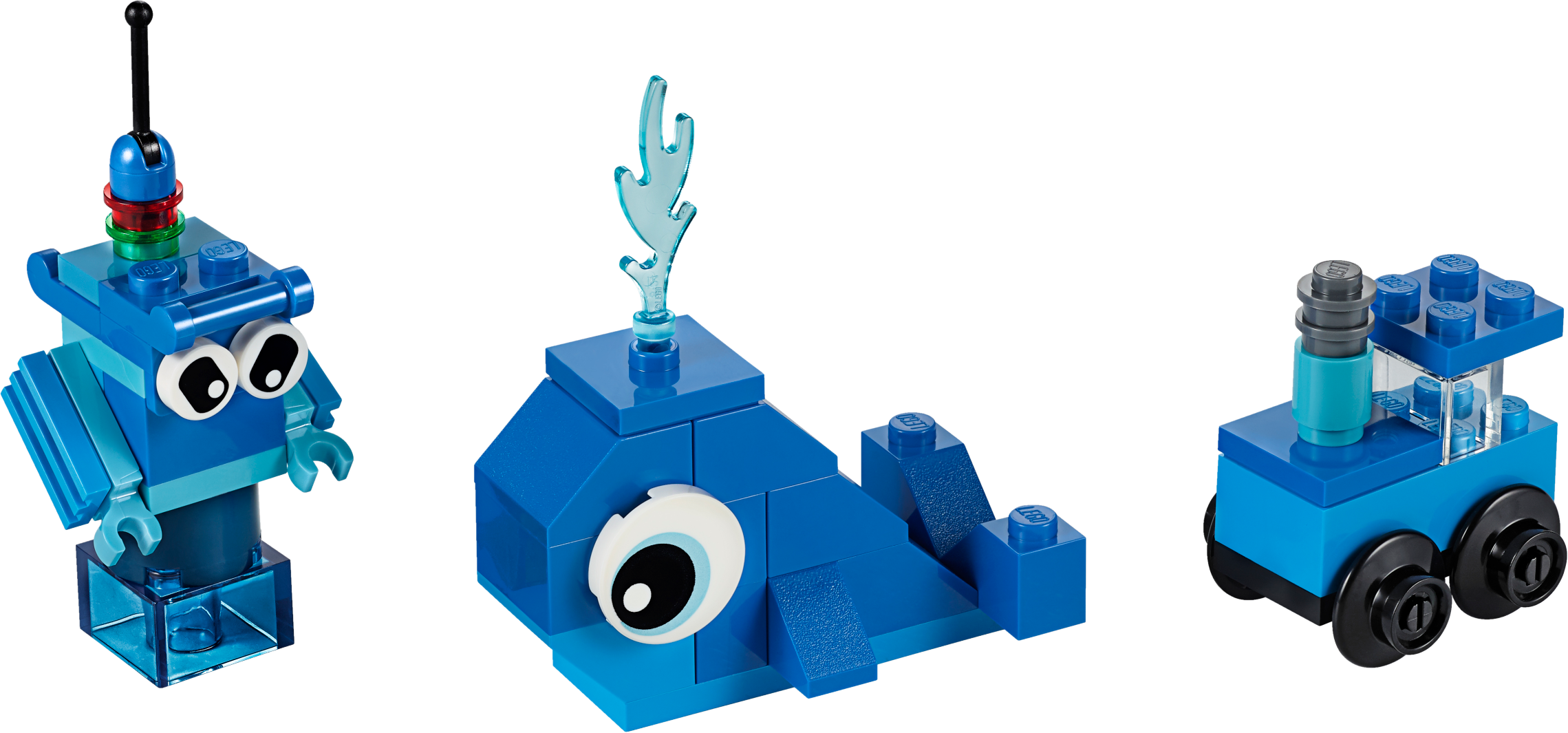 Creative Blue Bricks
