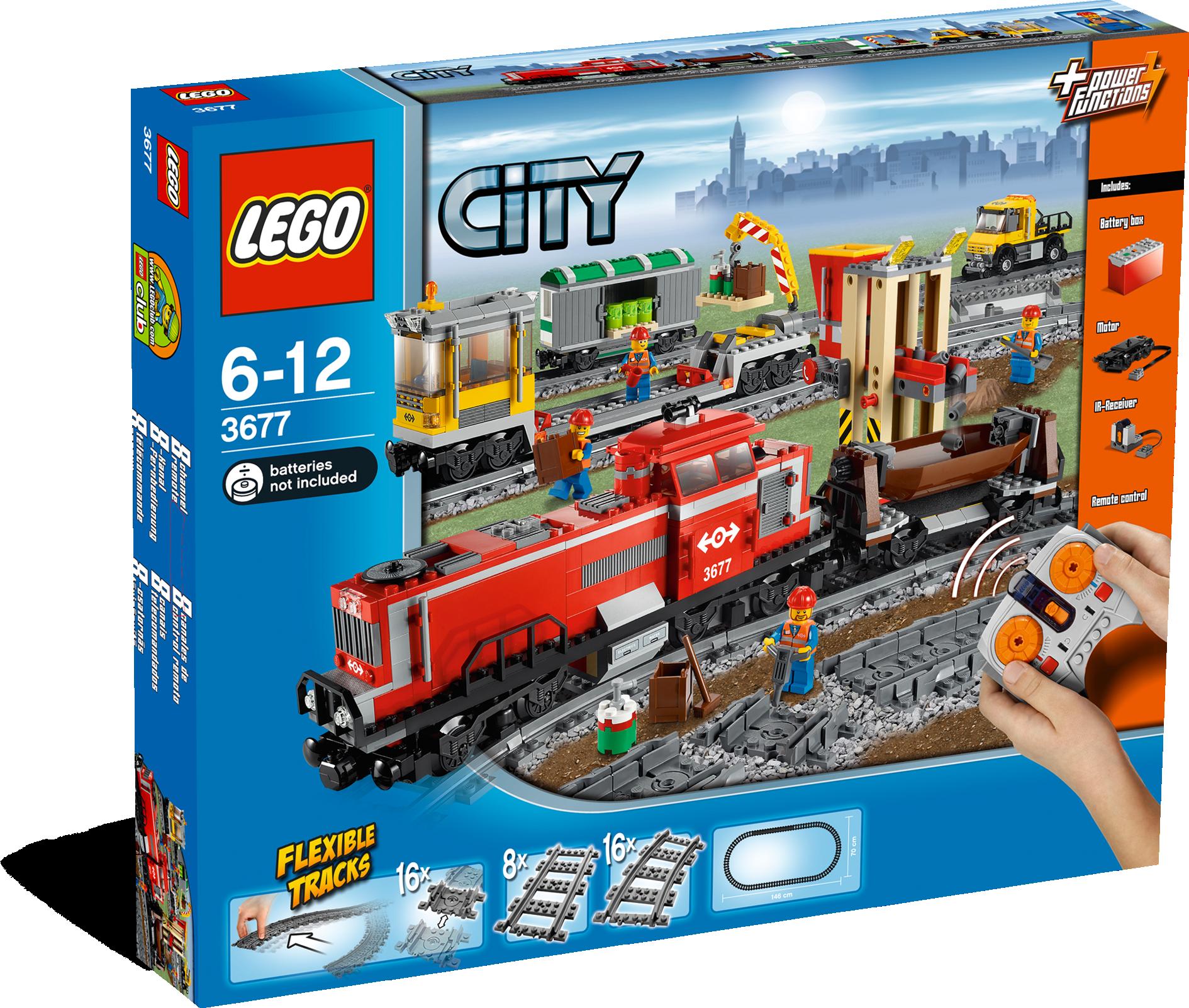 Red Cargo Train