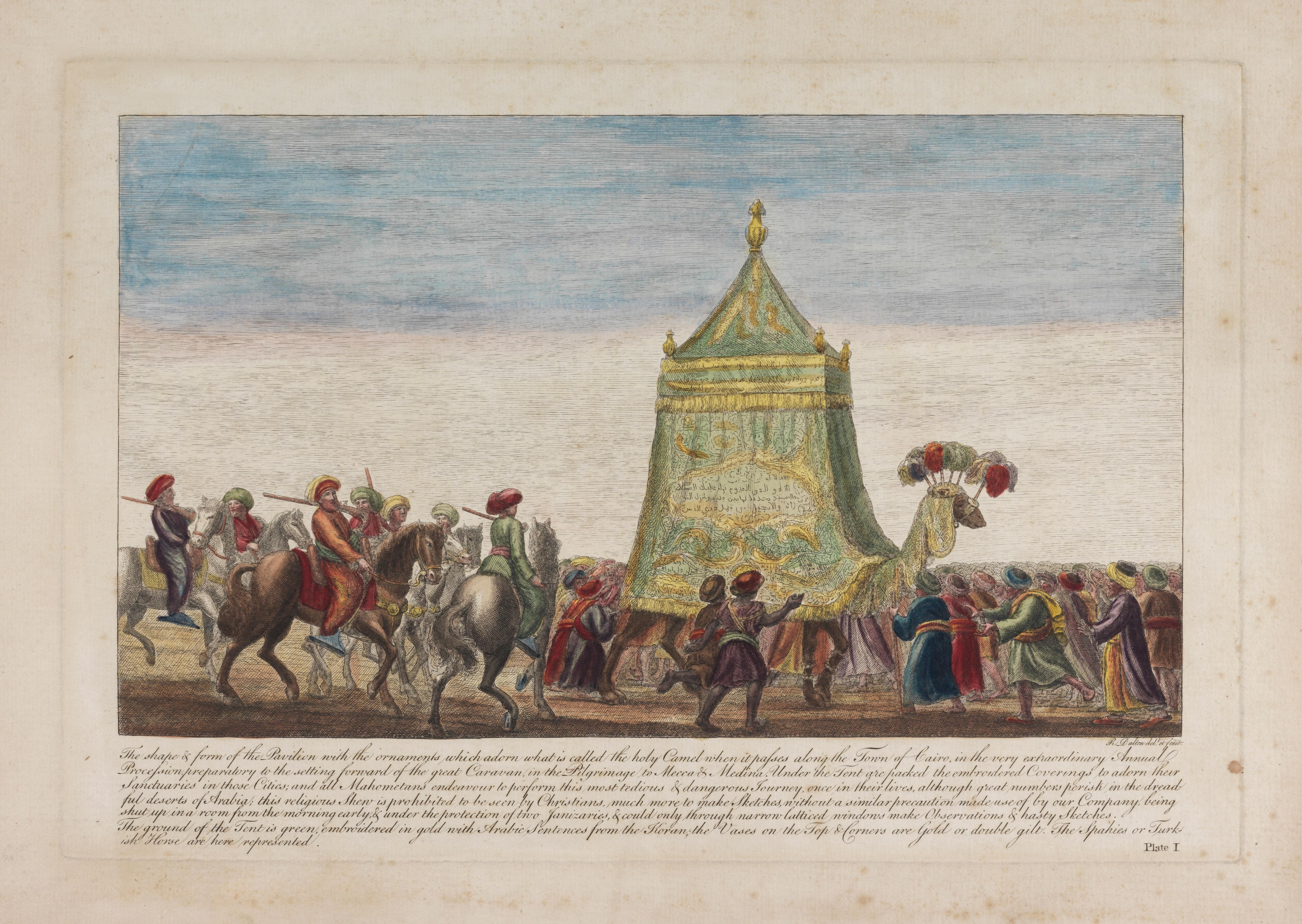 The Mahmal Passing Through Cairo by Richard Dalton