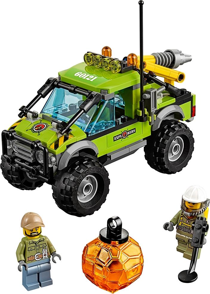 Volcano Exploration Truck