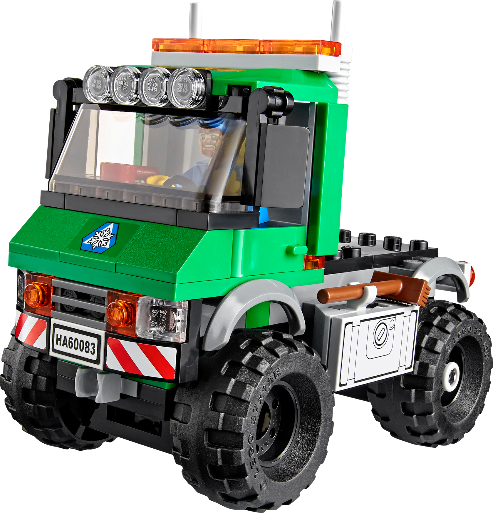 Snowplough Truck