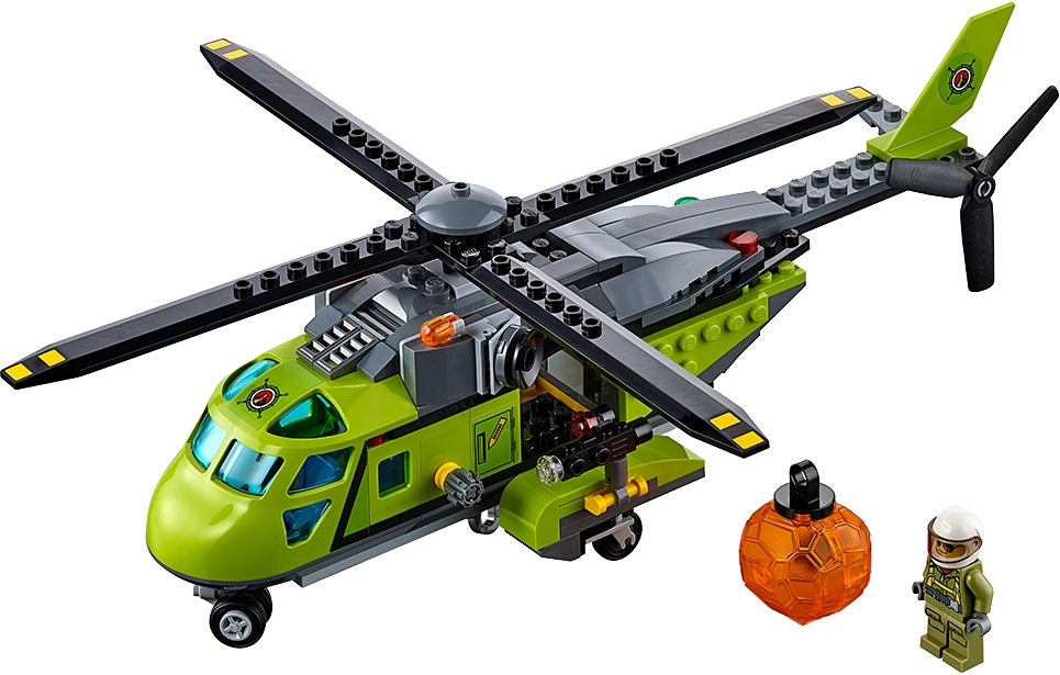Volcano Supply Helicopter