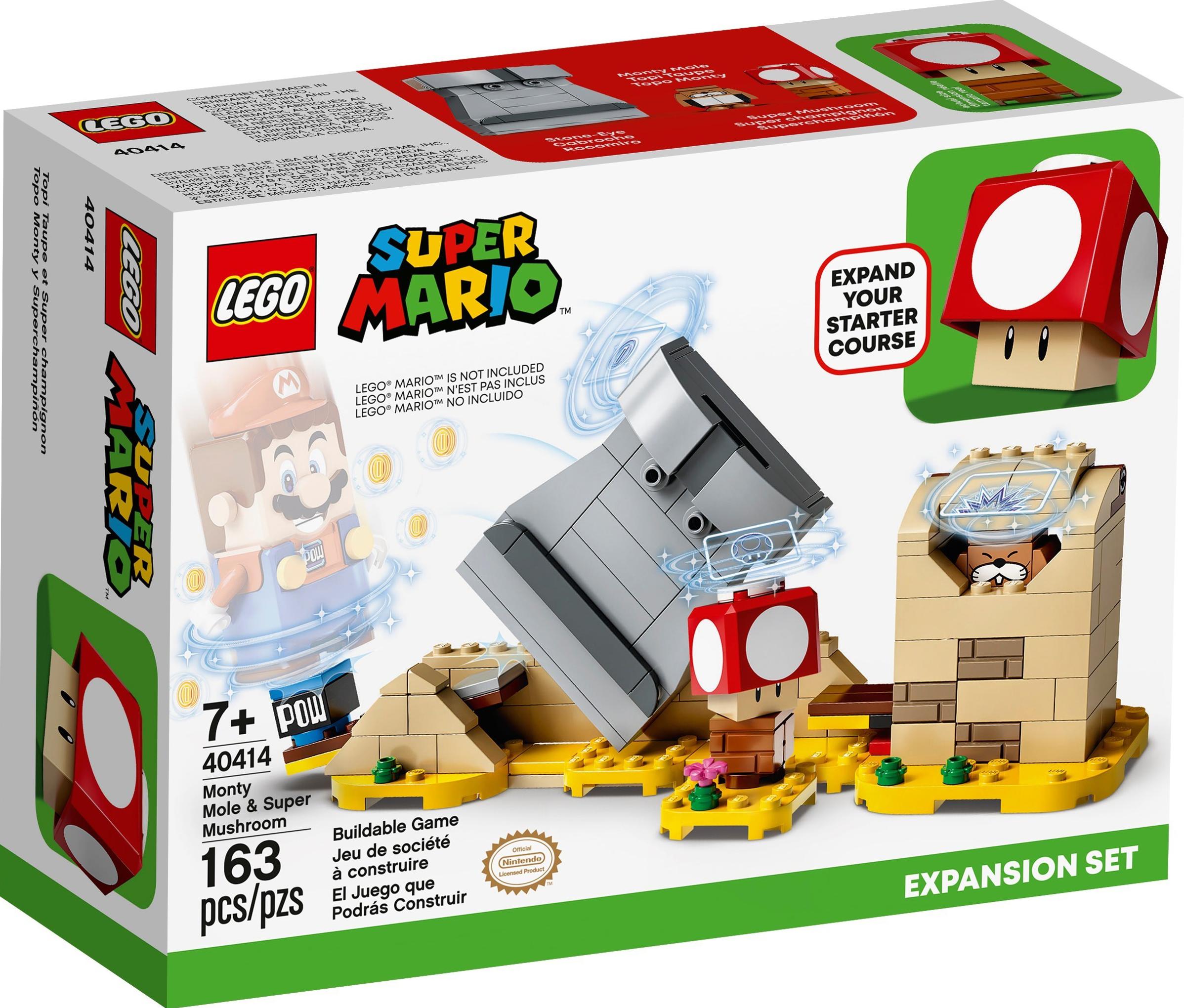 Monty Mole & Super Mushroom Expansion Set