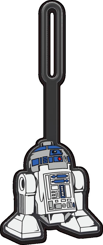 """R2-D2"""" Bag Tag"""