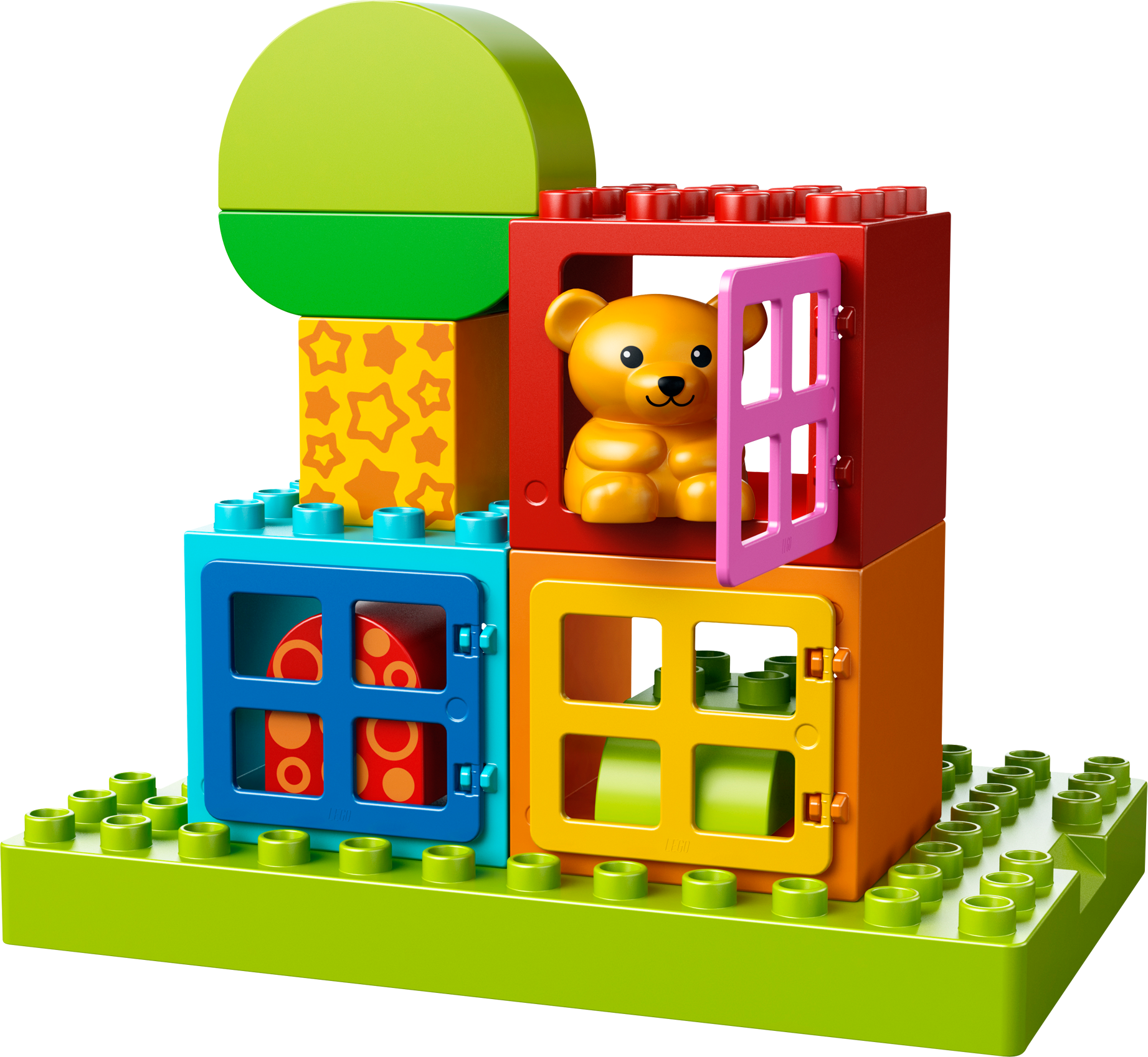 Toddler Build and Play Cubes