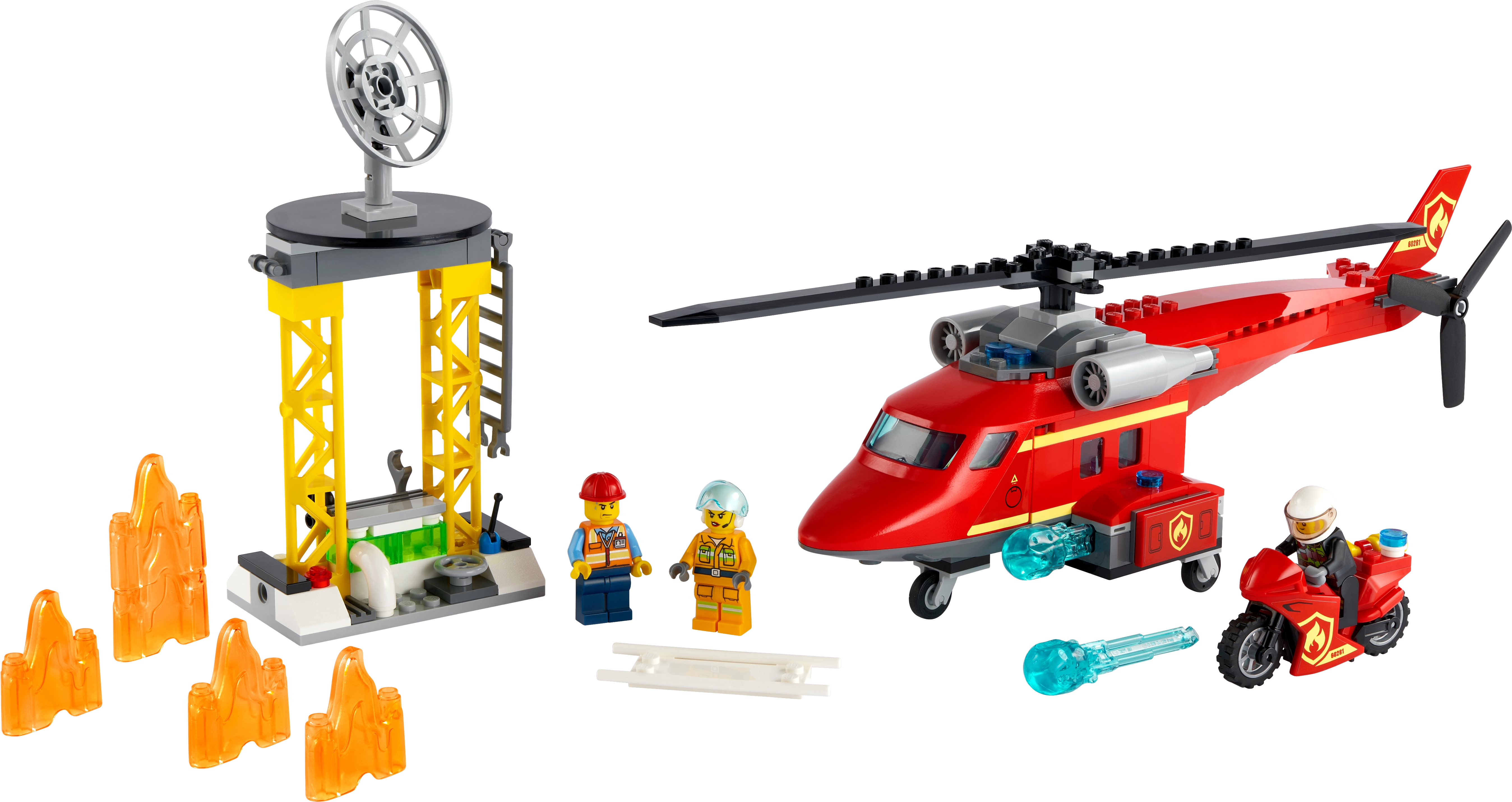 Fire Rescue Helicopter