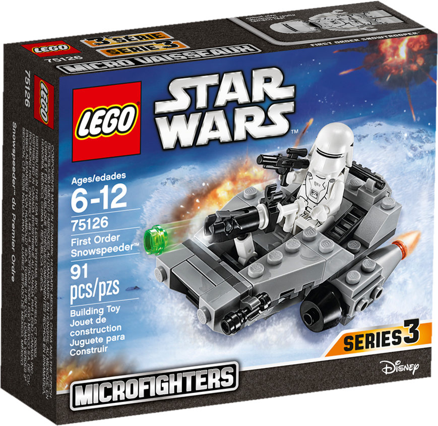 First Order Snowspeeder Microfighter