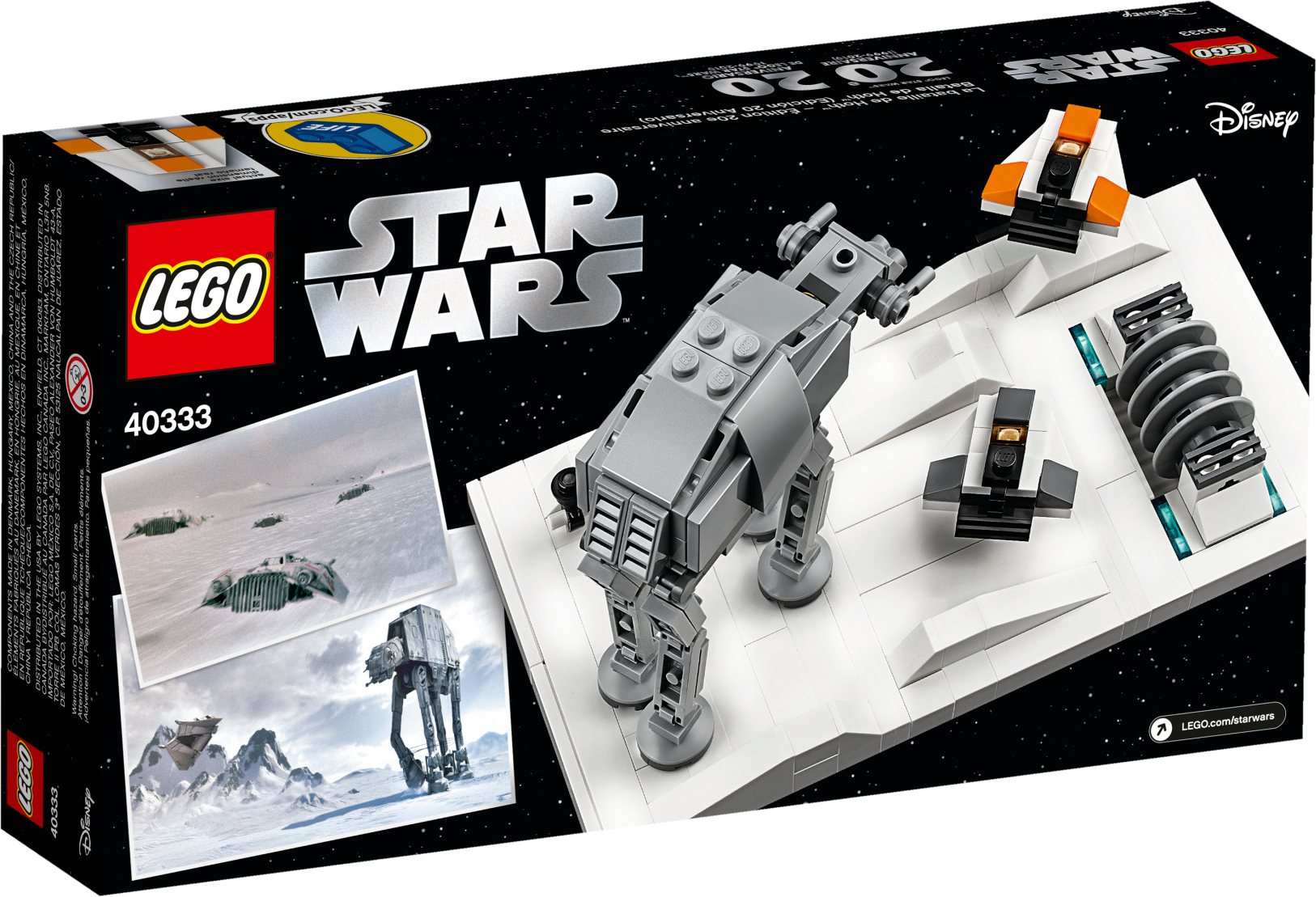 Battle of Hoth™ Micro Build