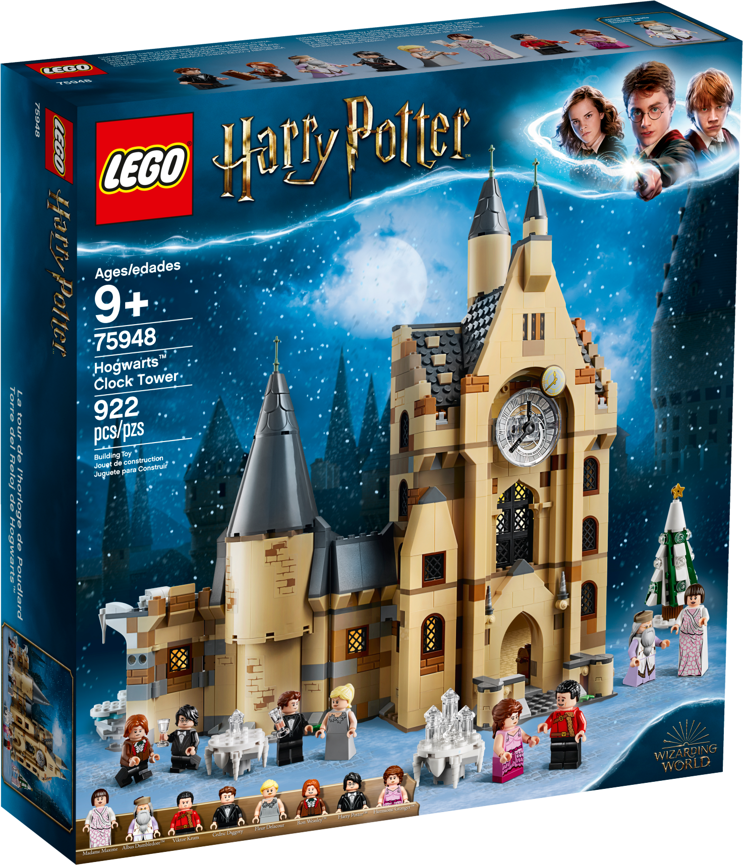 "Hogwarts"" Clock Tower"