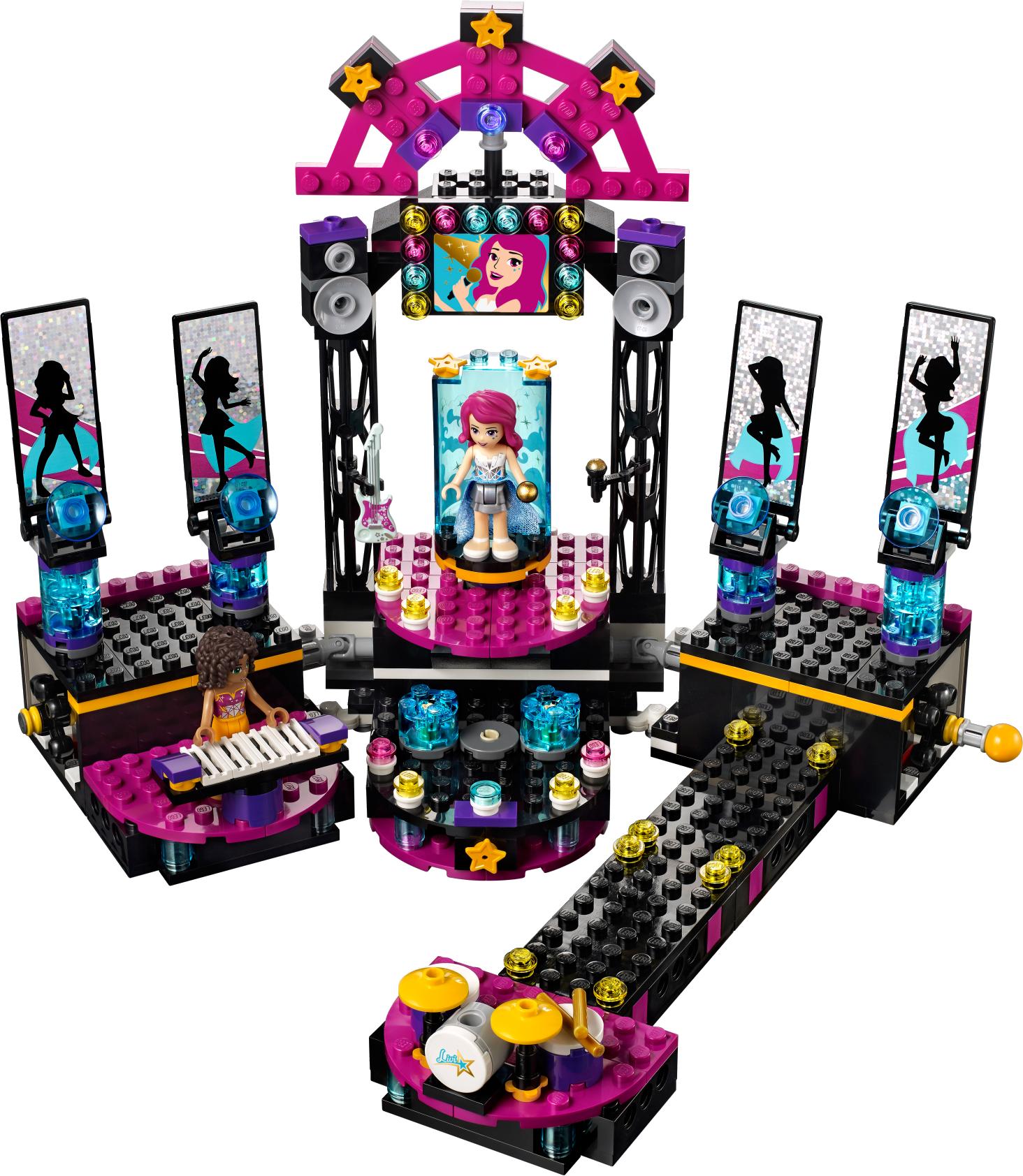 Pop Star Show Stage