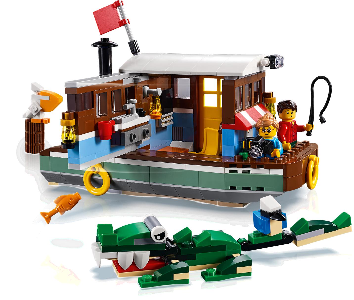 Riverside Houseboat