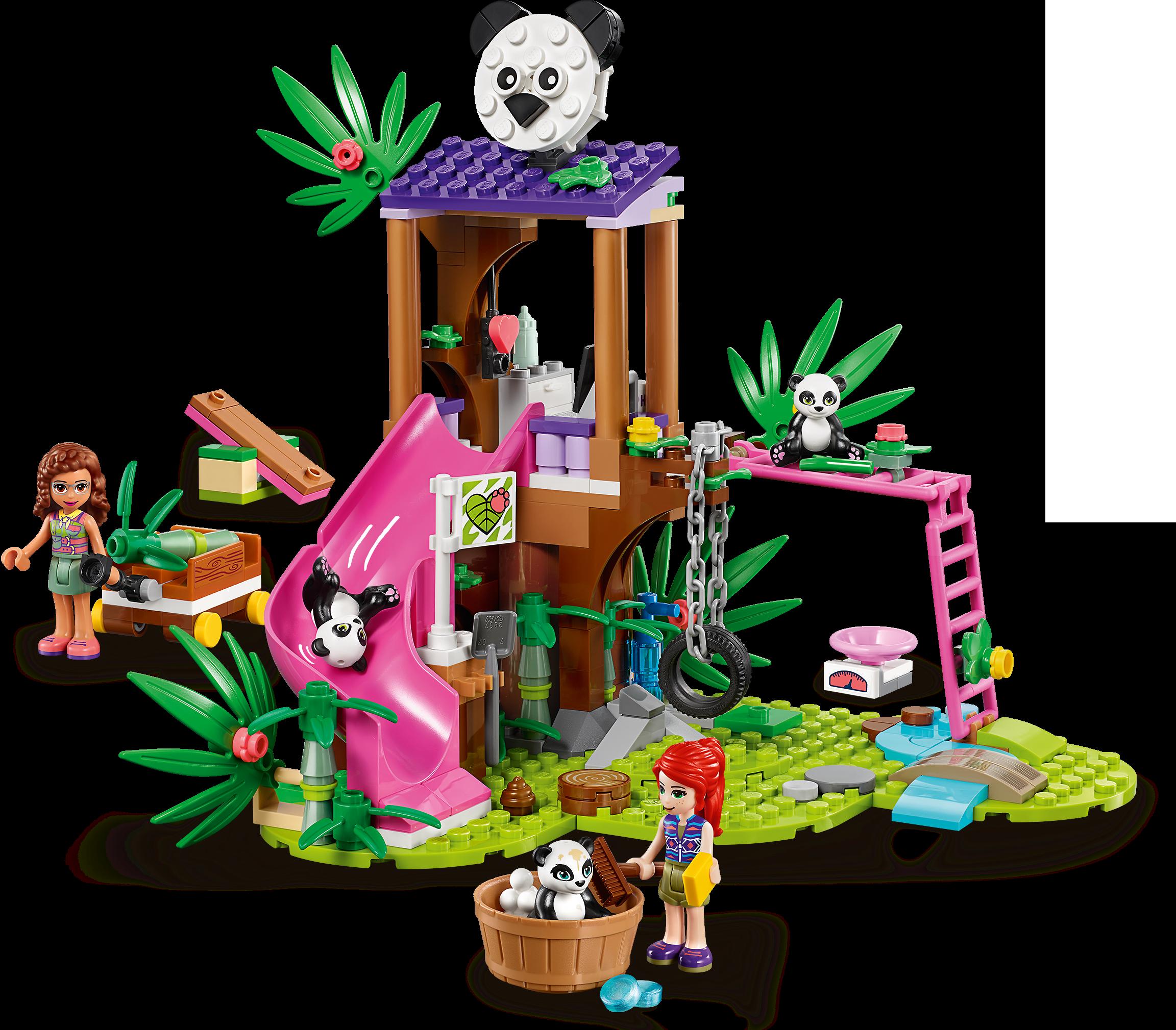 Panda Jungle Tree House