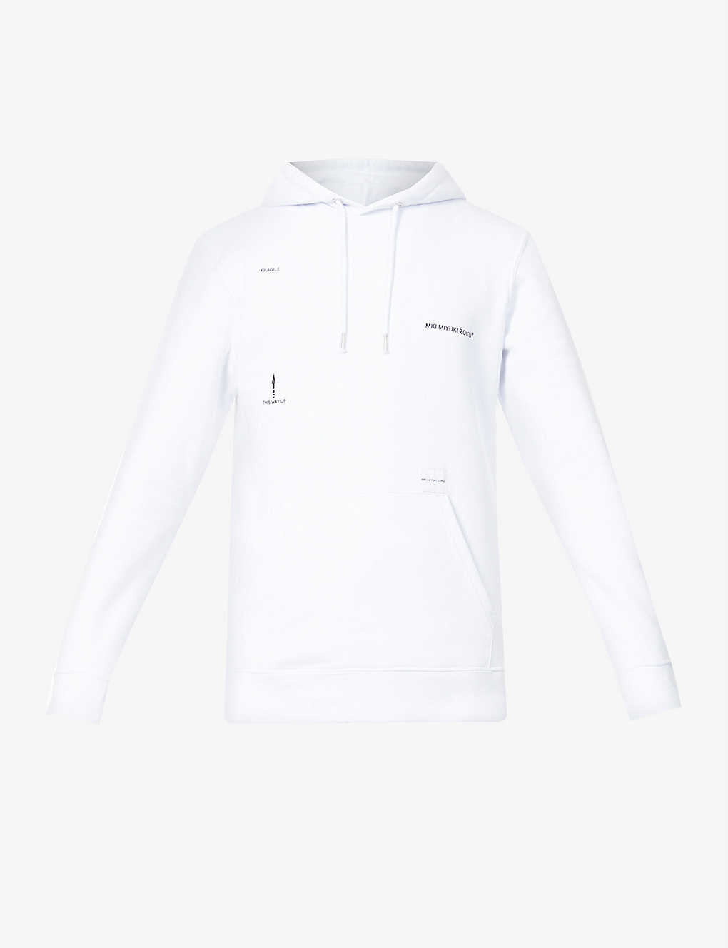 MKI EXCL ROYAL MAIL HOODY WHITE
