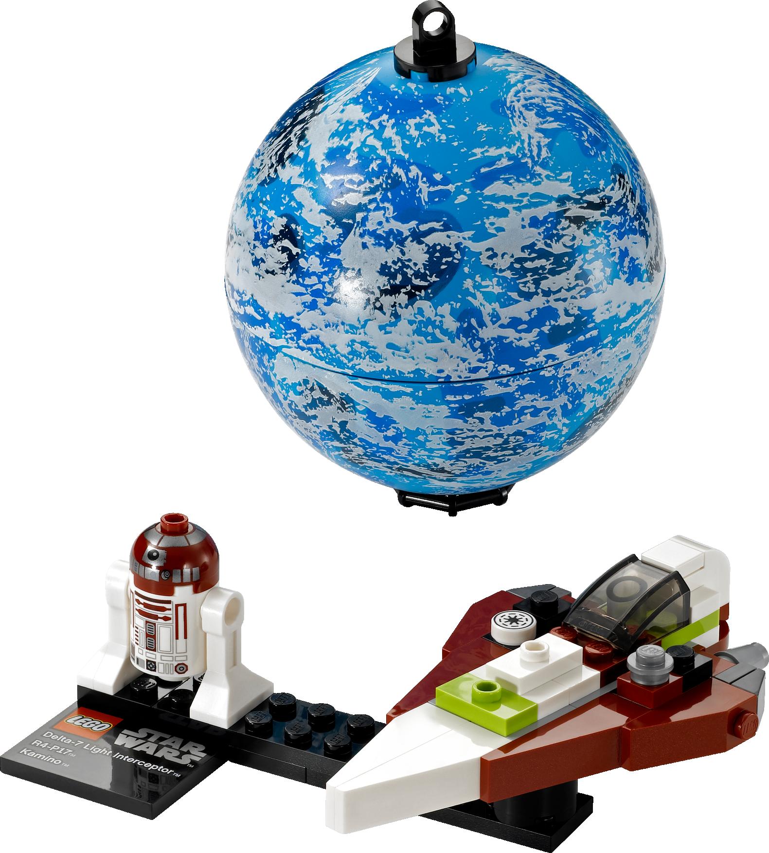 Jedi Starfighter & Planet Kamino