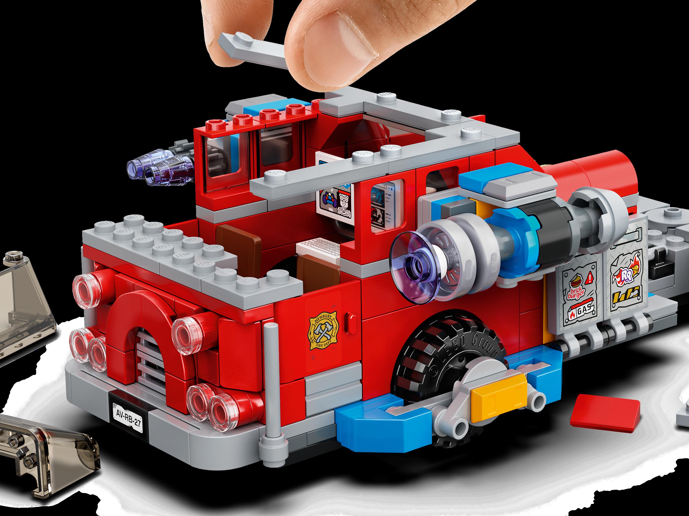 Phantom Fire Truck 3000