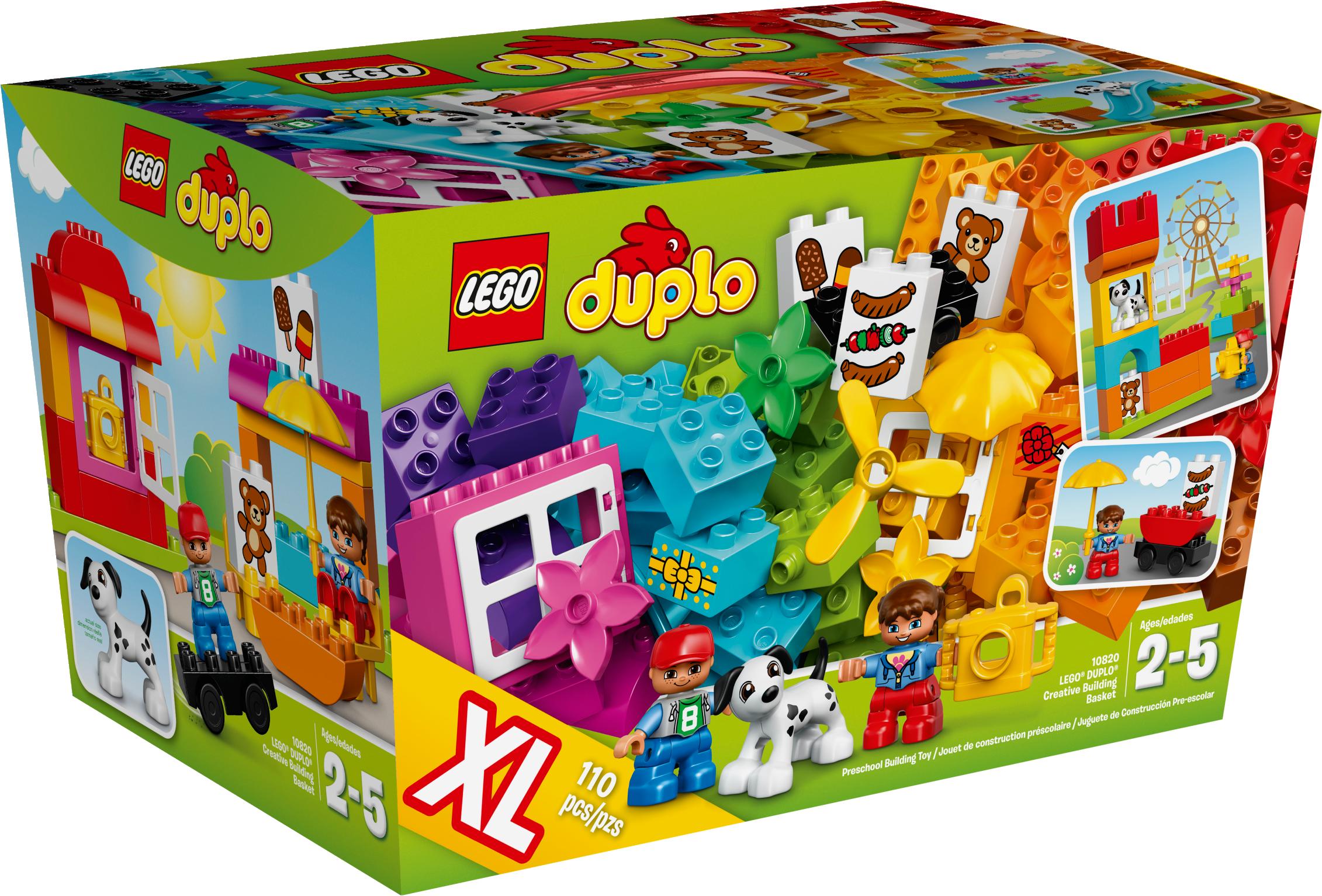 LEGO® DUPLO® Creative Building Basket