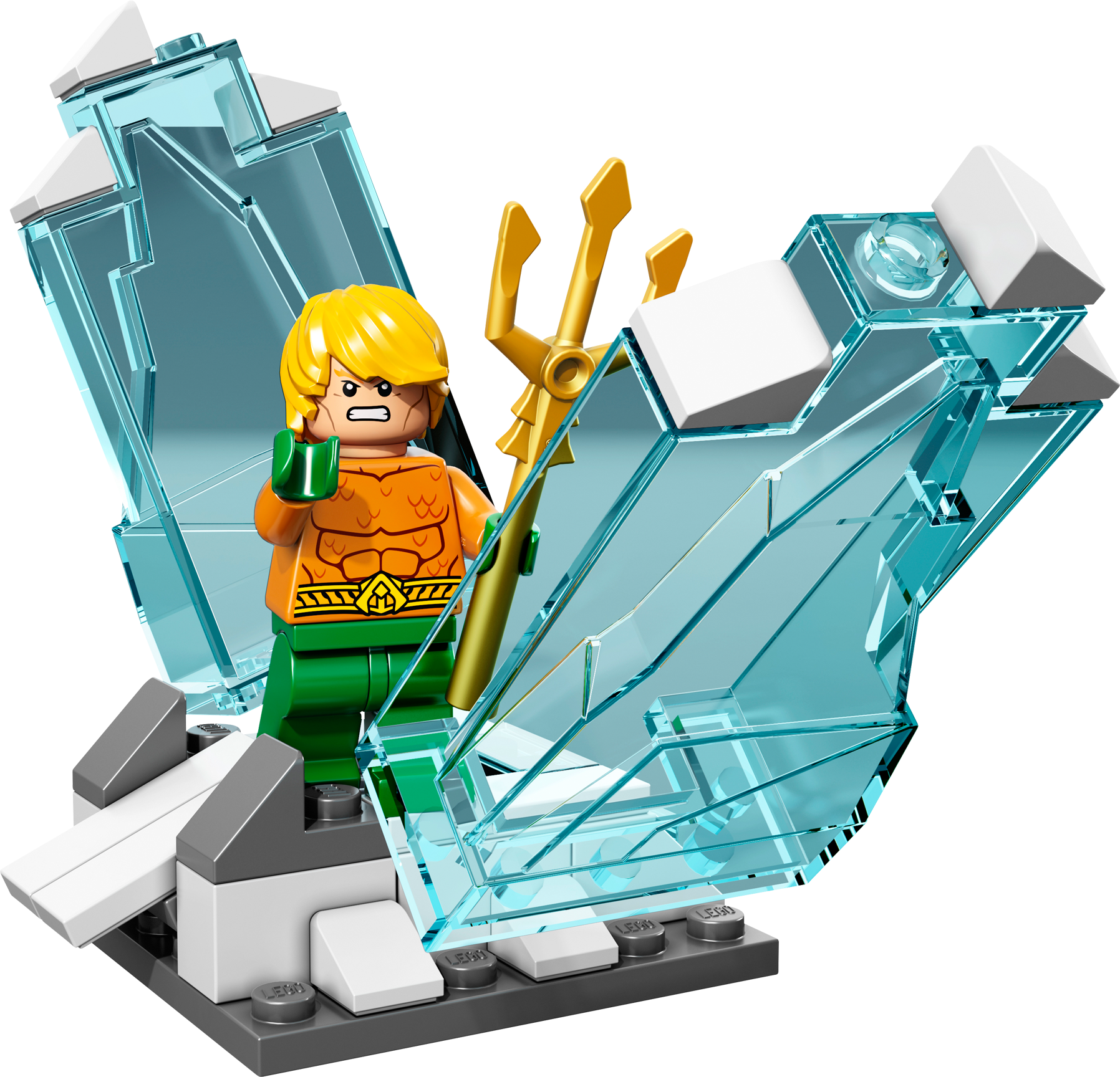 Arctic Batman vs. Mr. Freeze: Aquaman on Ice