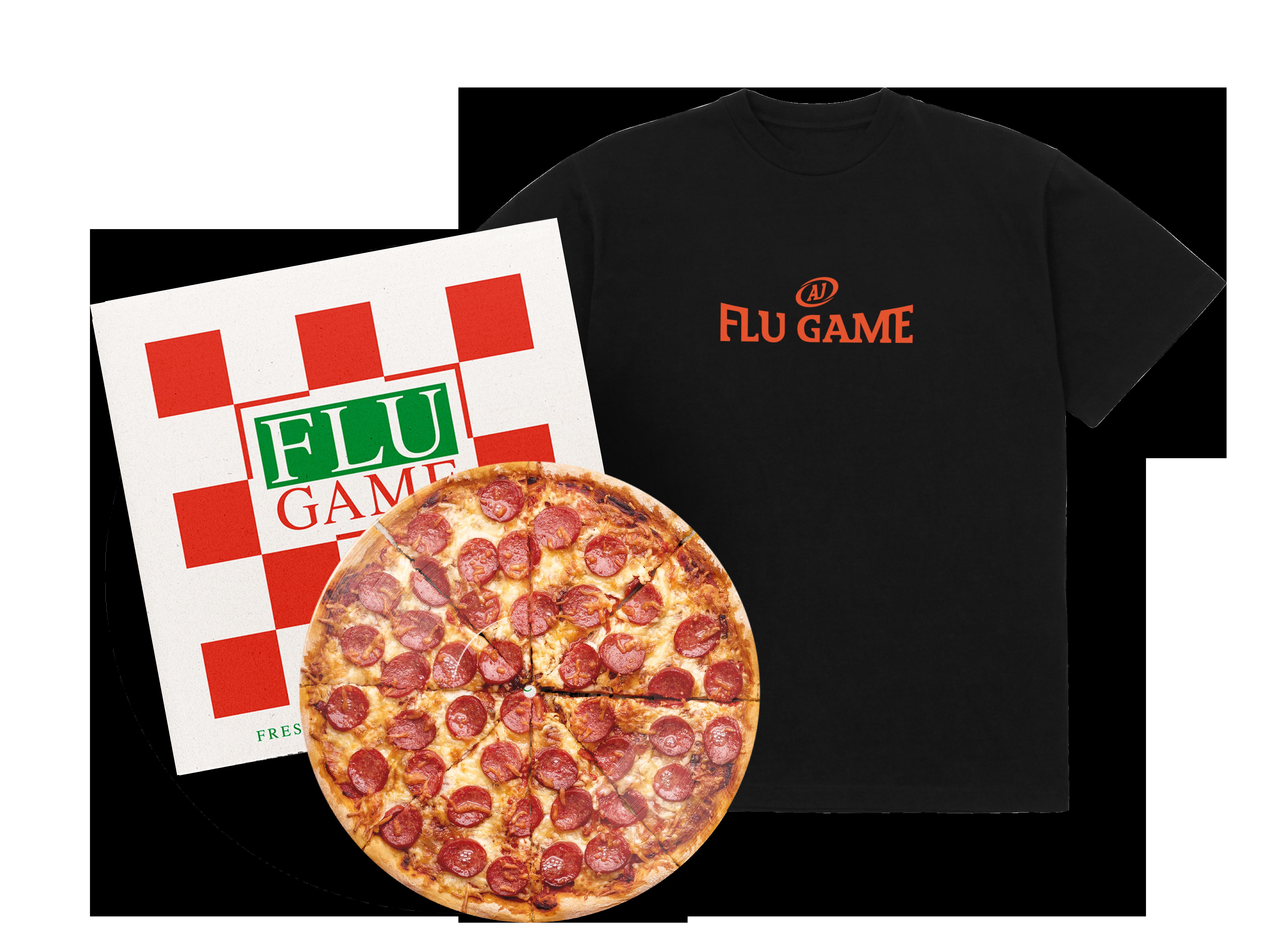 Flu Game Limited Edition LP + T-Shirt Bundle - Black