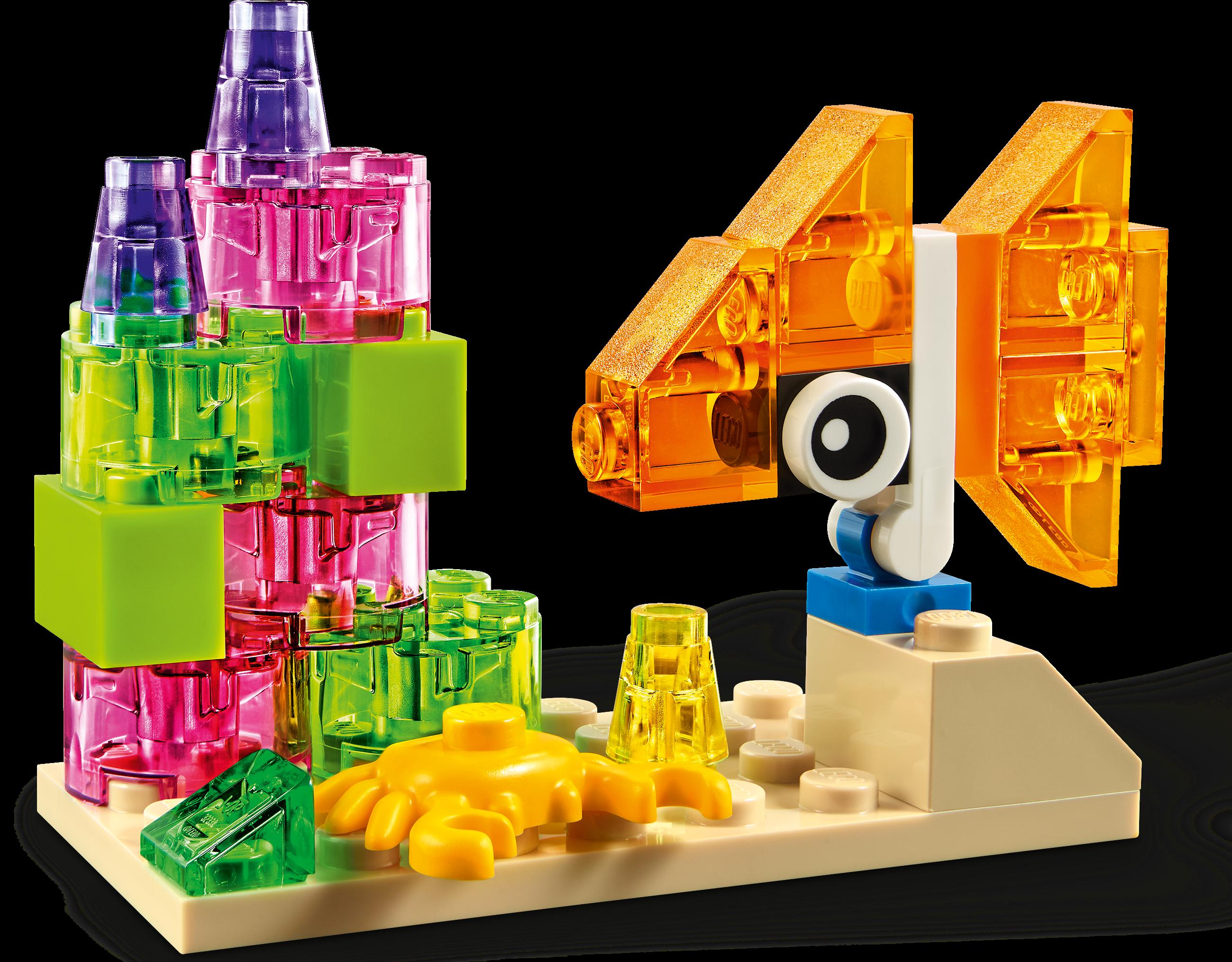 Creative Transparent Bricks