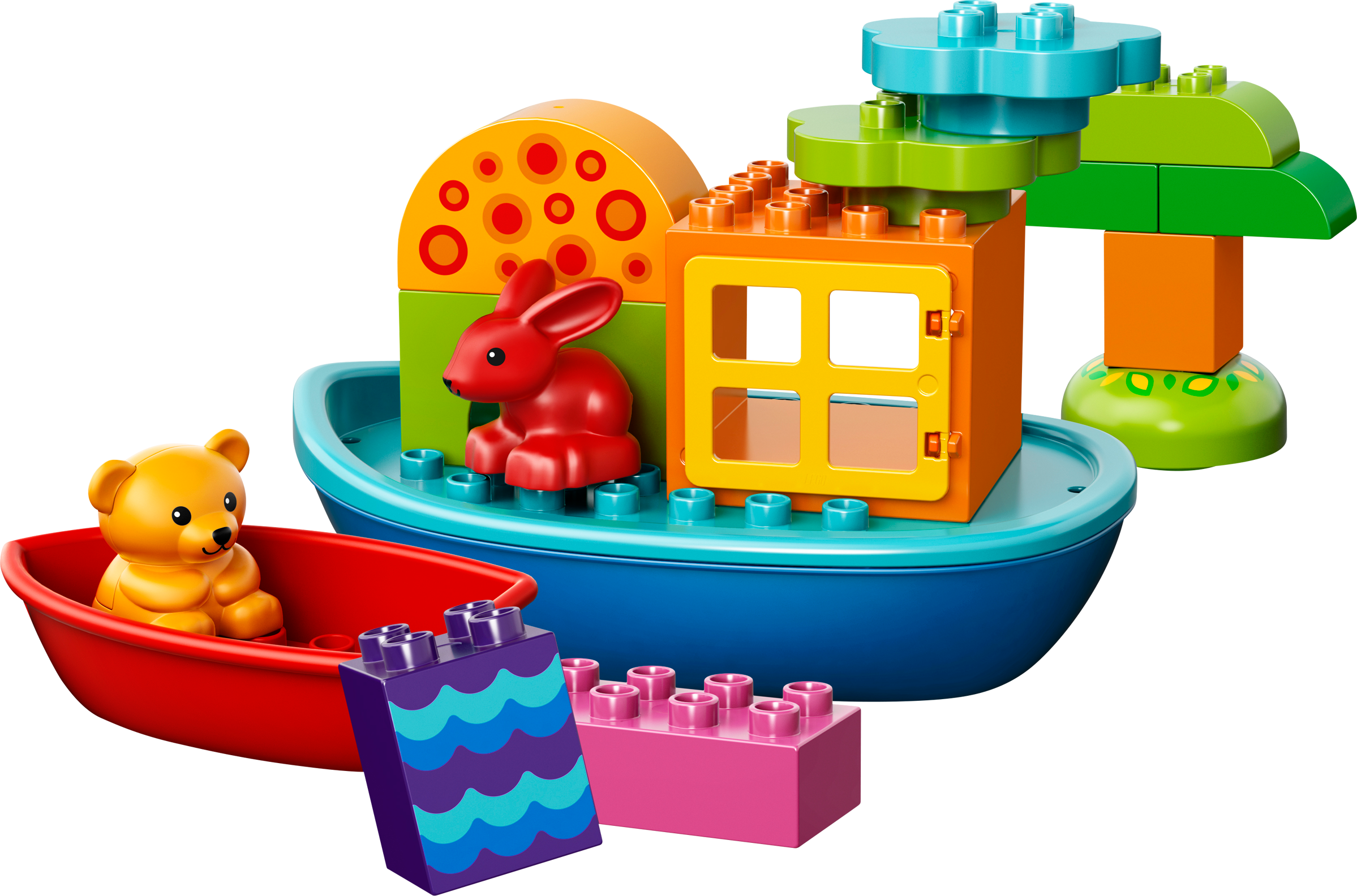 Toddler Build and Boat Fun