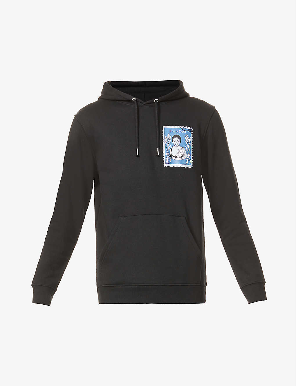 EVELYN DOVE STAMP HOODY