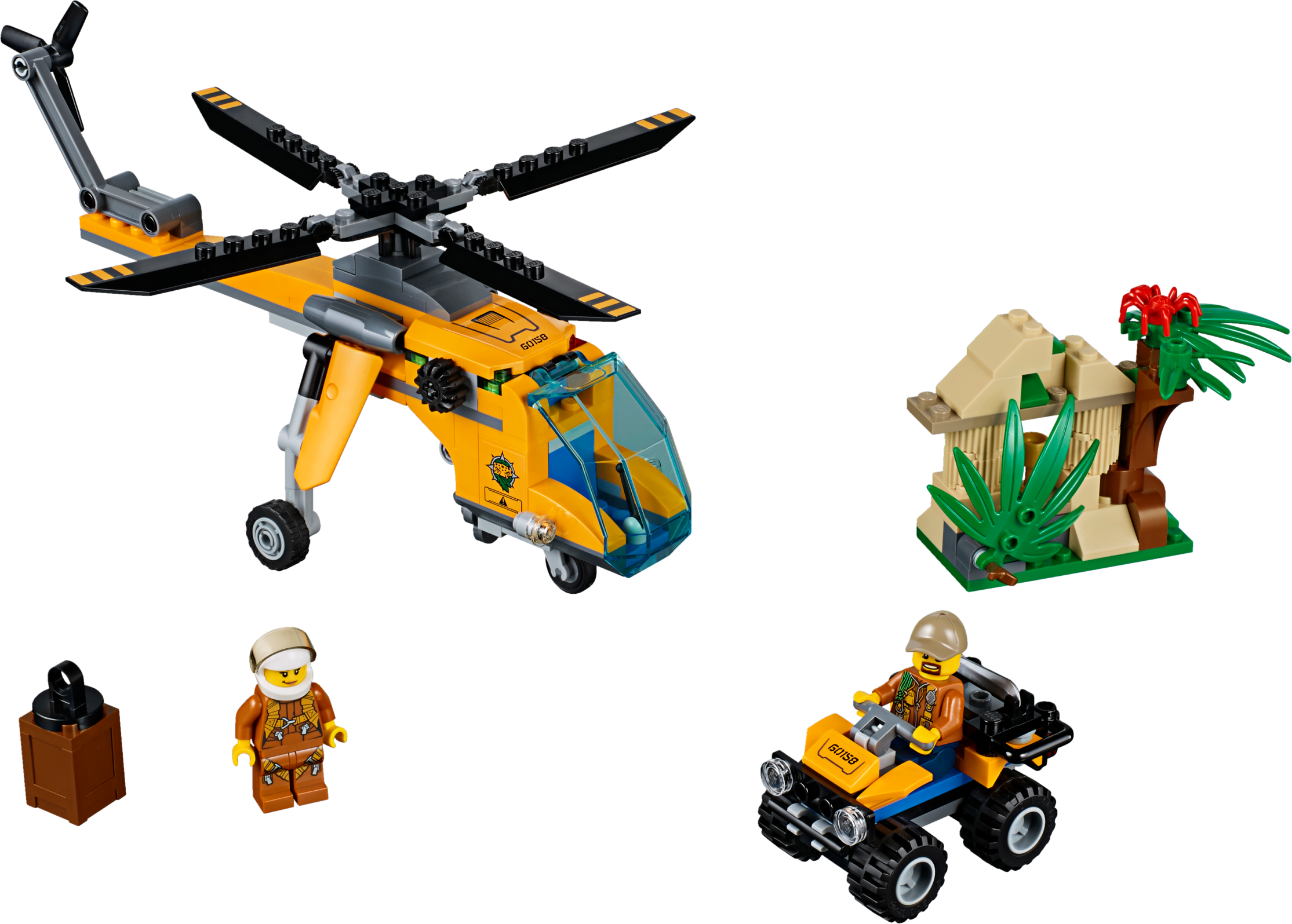 Jungle Cargo Helicopter
