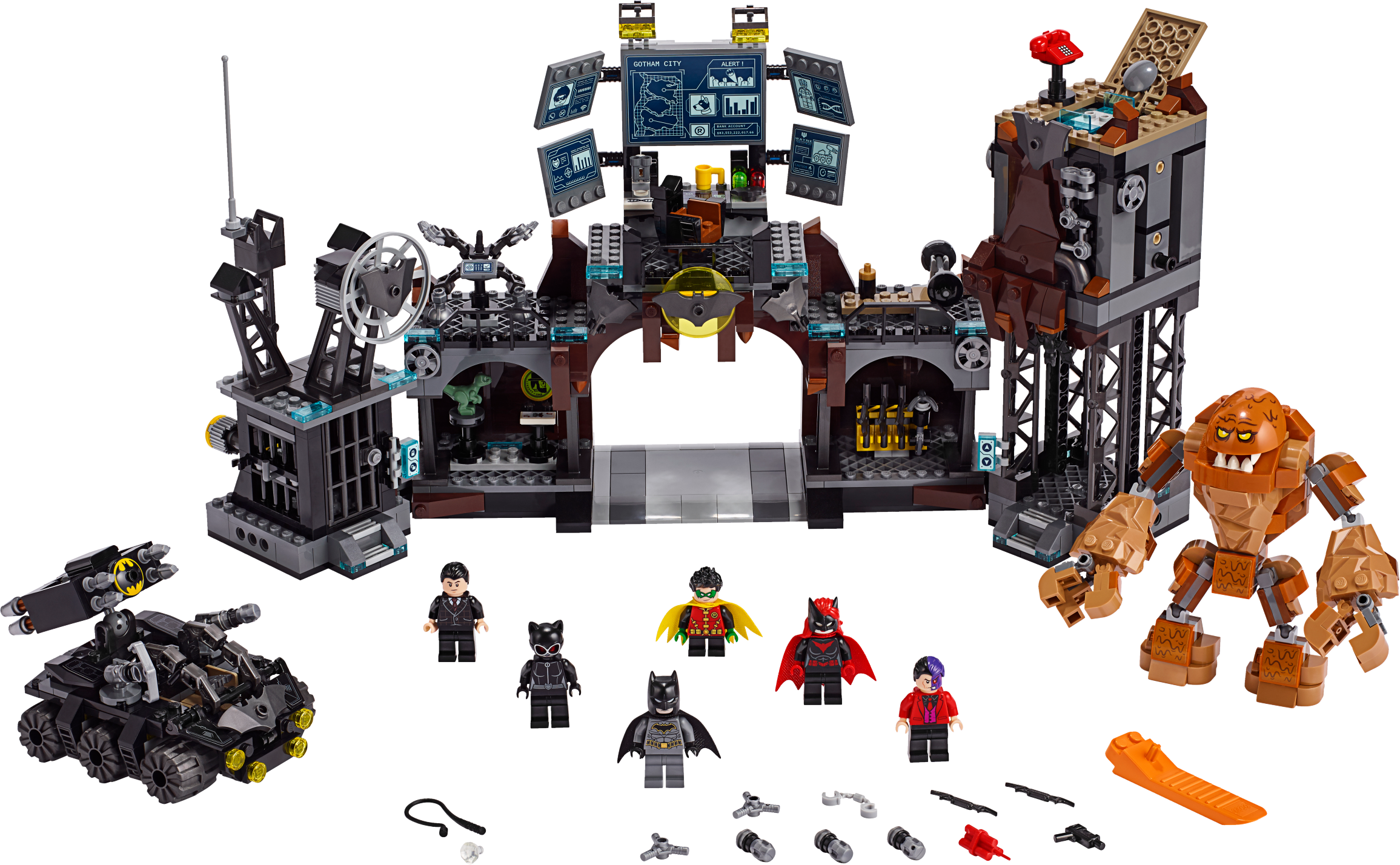 Batcave Clayface™ Invasion