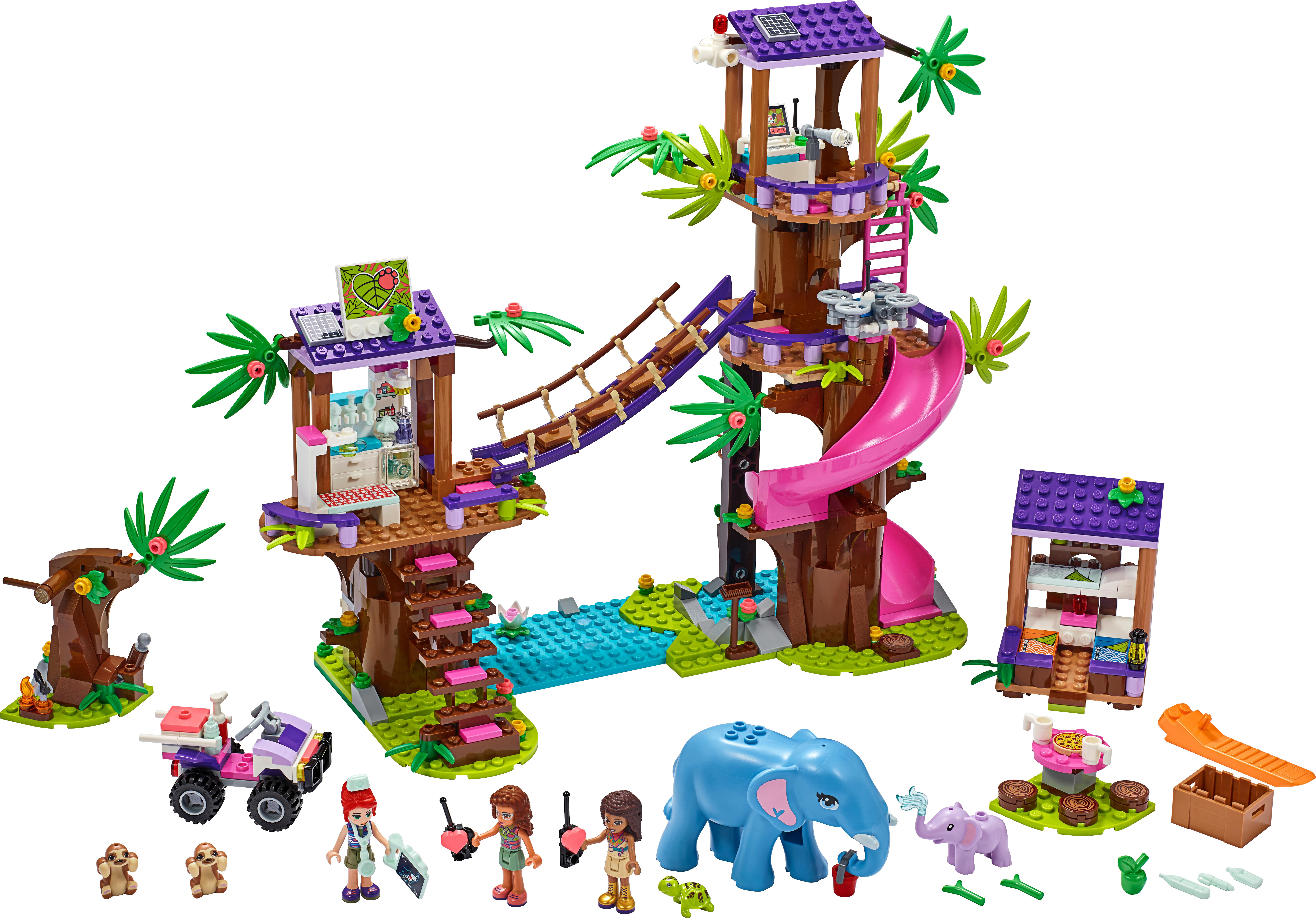 Jungle Rescue Base