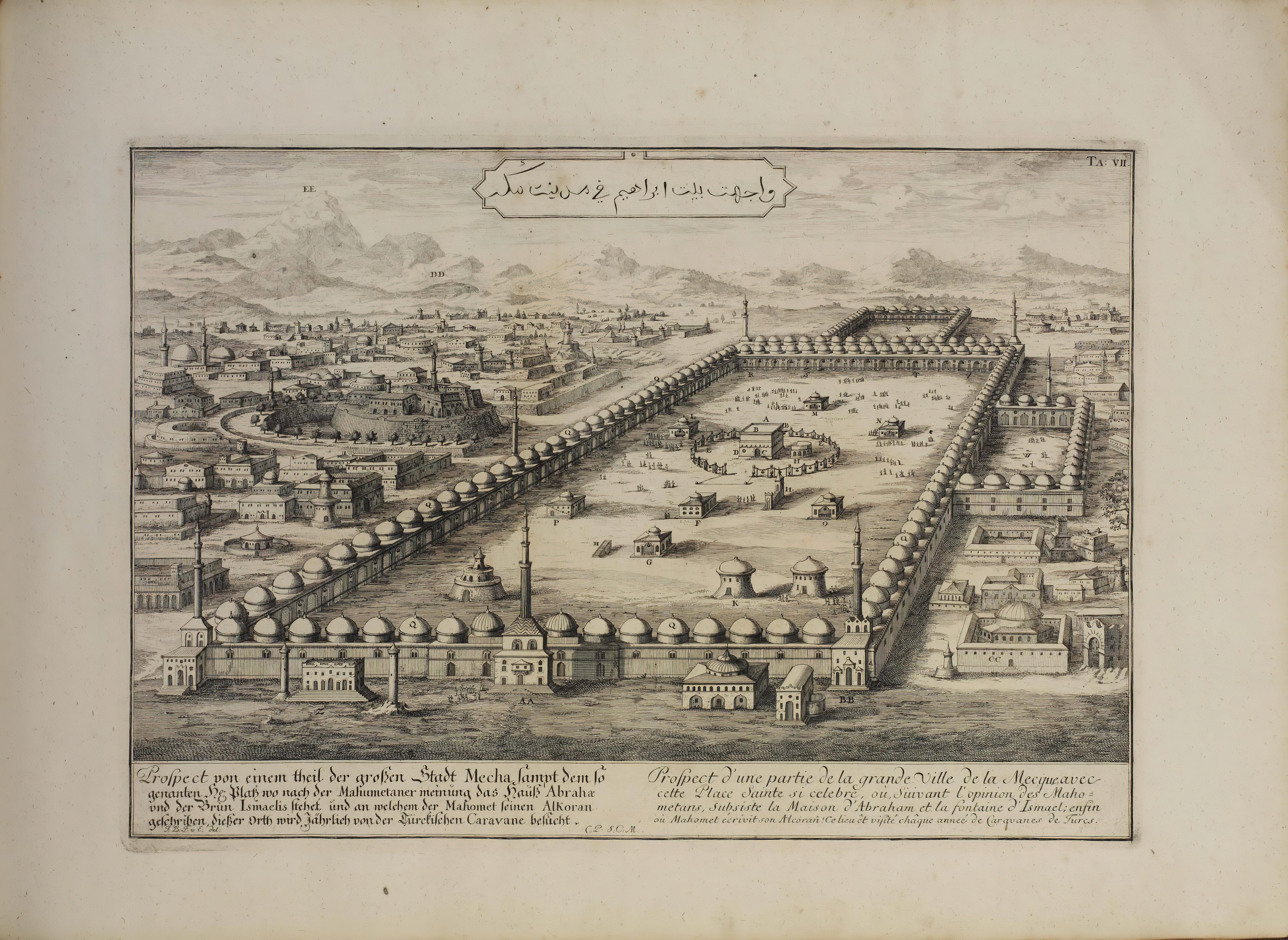 An illustrated album of architecture  Fischer von Erlach, Johann Berhard, Leipzig