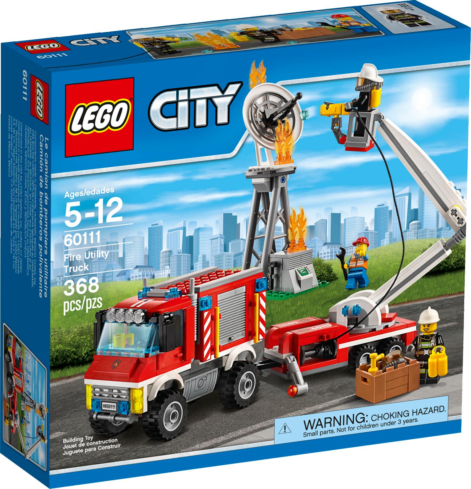 Fire Utility Truck