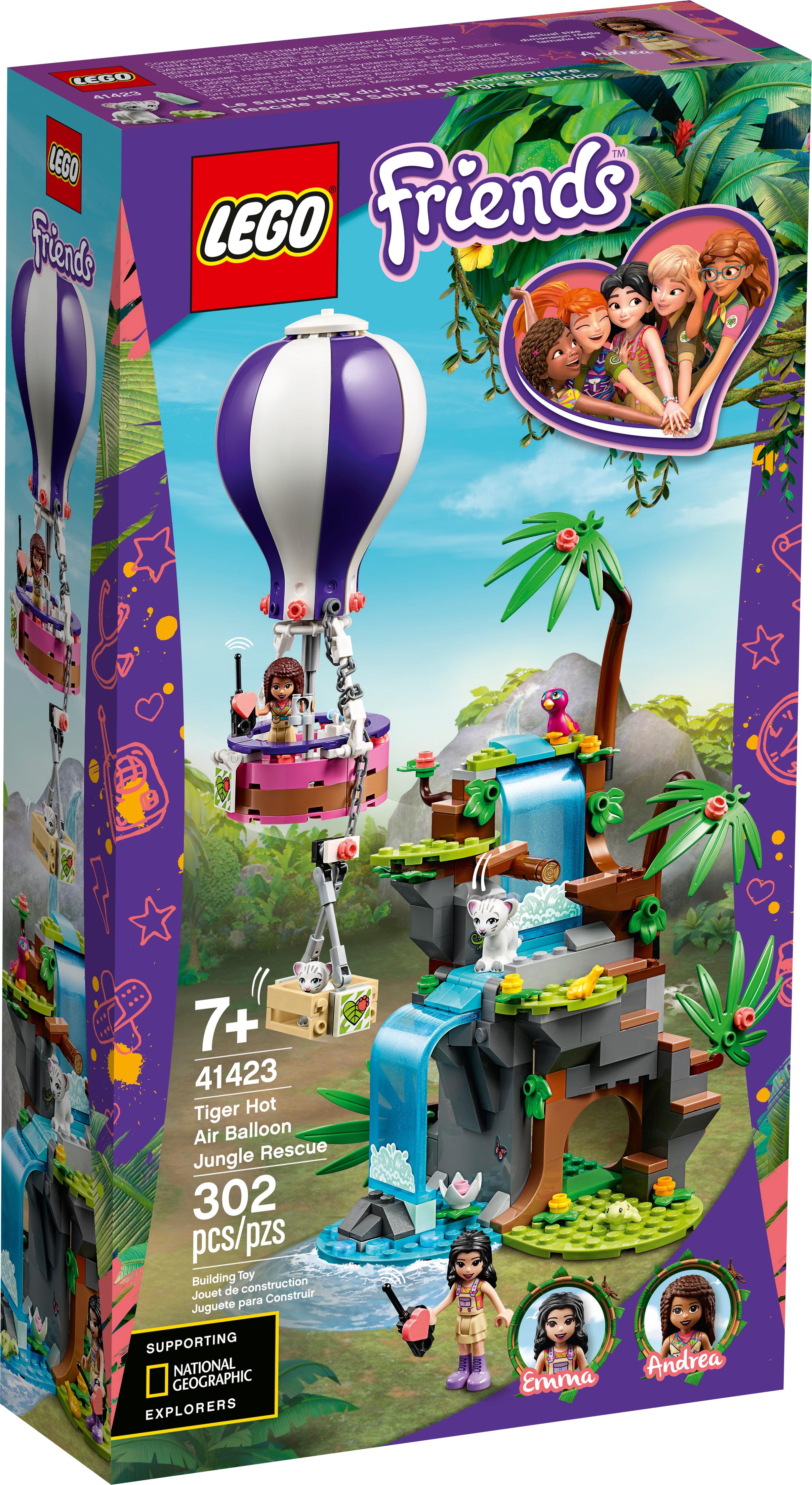 Tiger Hot Air Balloon Jungle Rescue