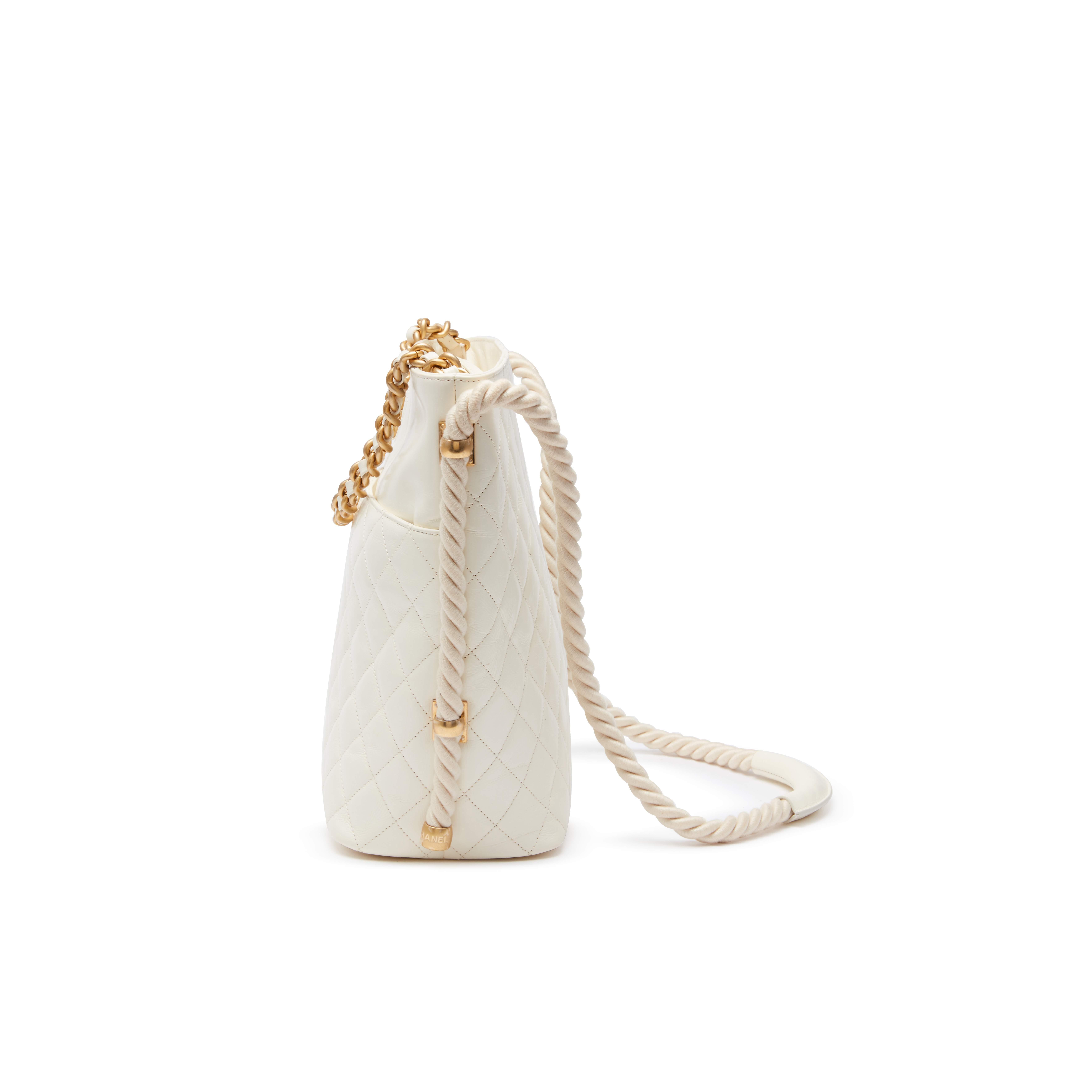 Ivory-Lambskin-En-Vogue-Hobo-Bag-Goldtone-Hardware