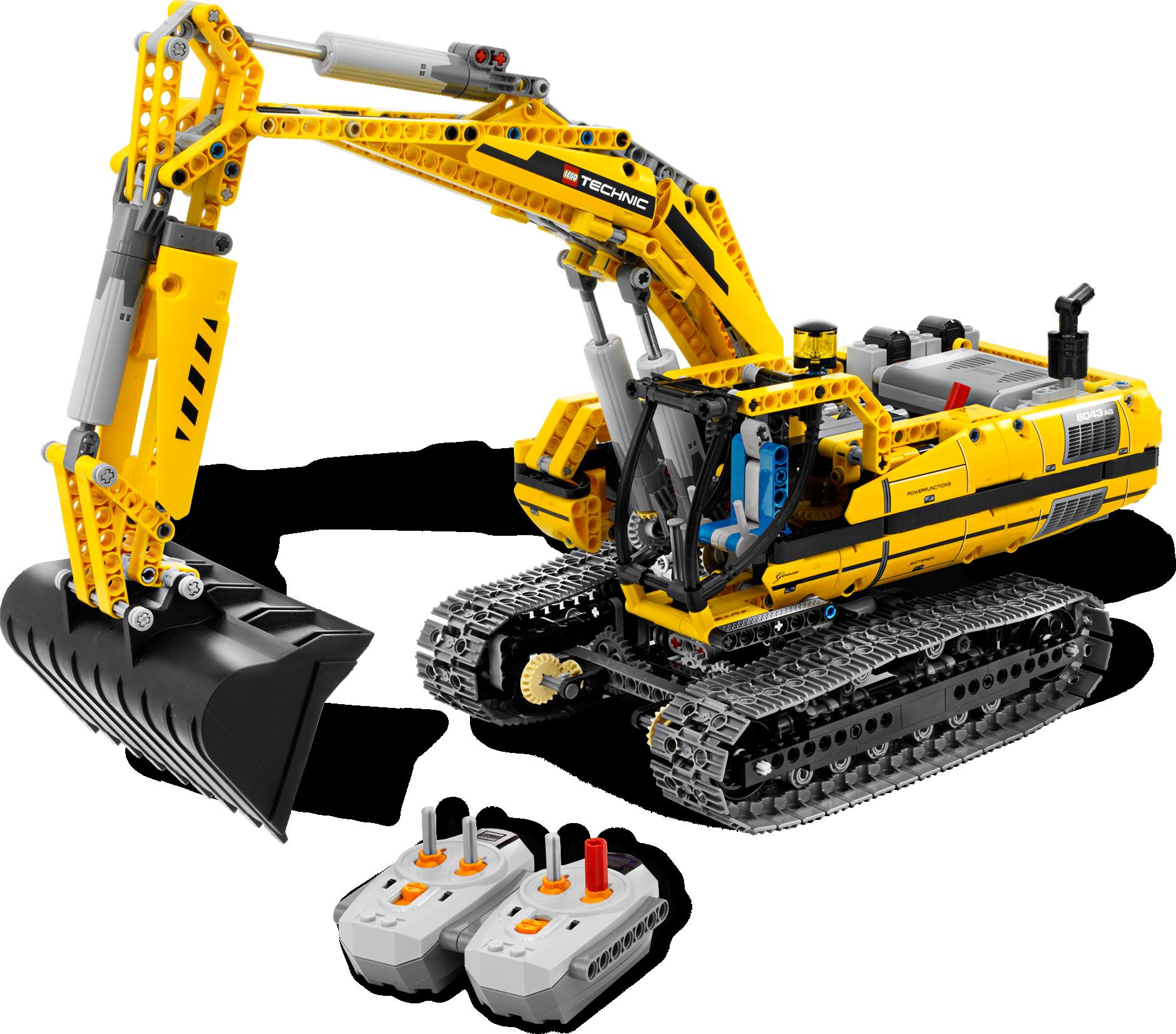 Motorized Excavator