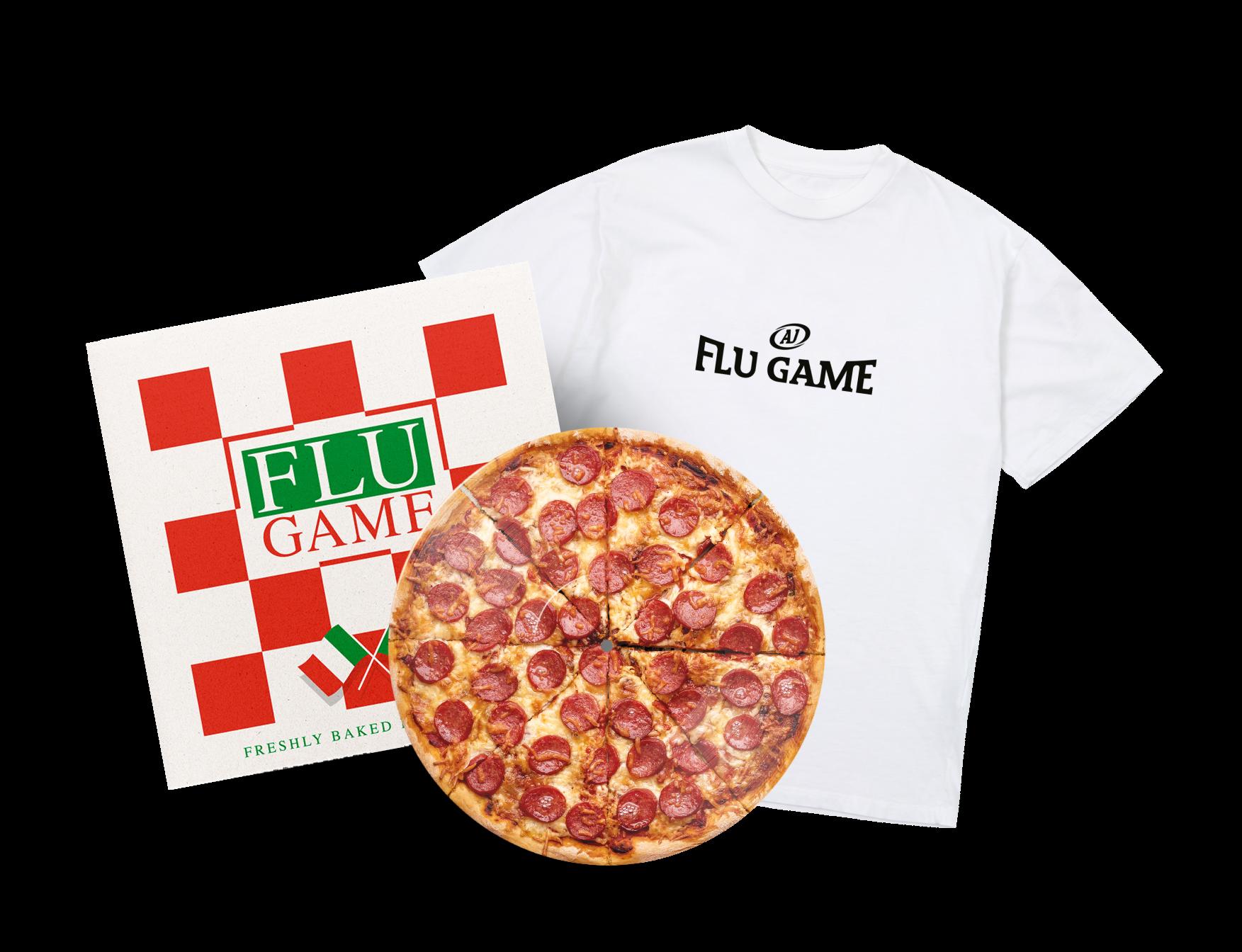 Flu Game Limited Edition LP + T-Shirt Bundle - White