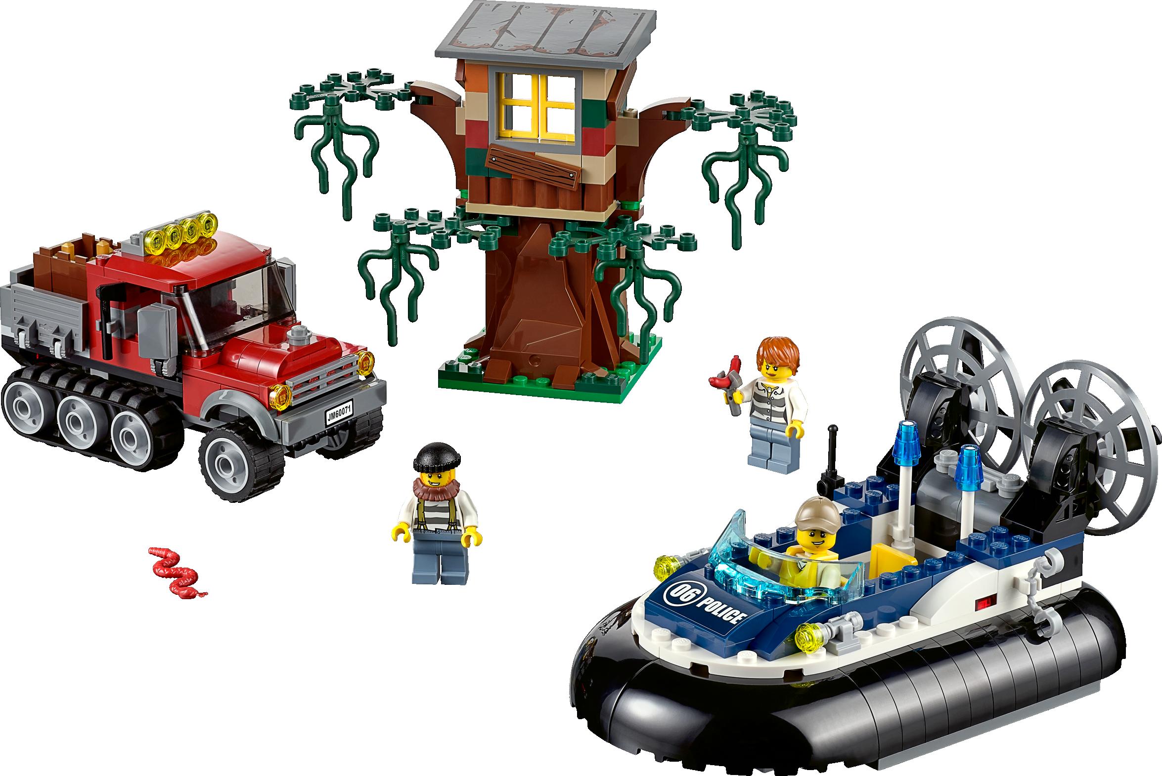 Hovercraft Arrest