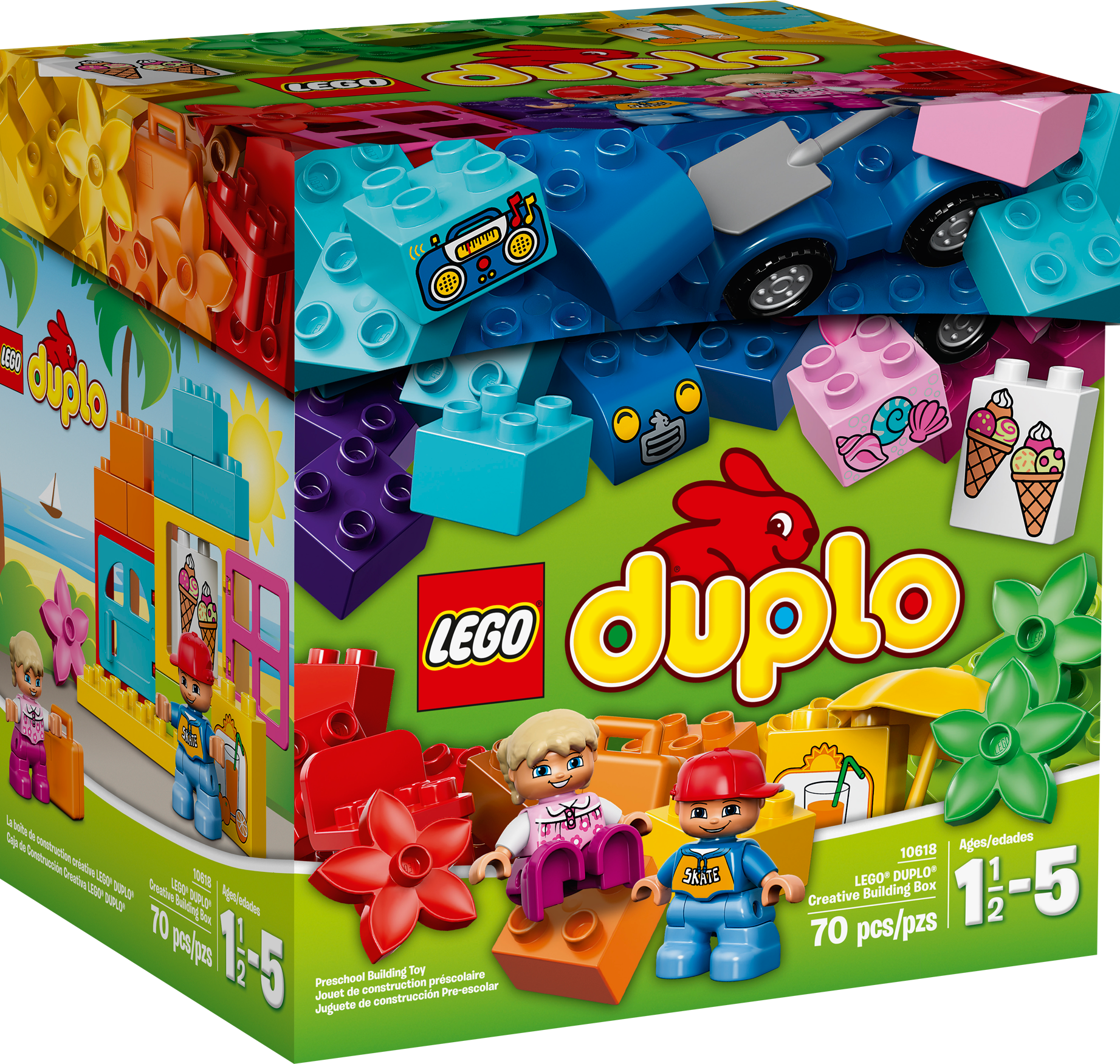 LEGO® DUPLO® Creative Building Box