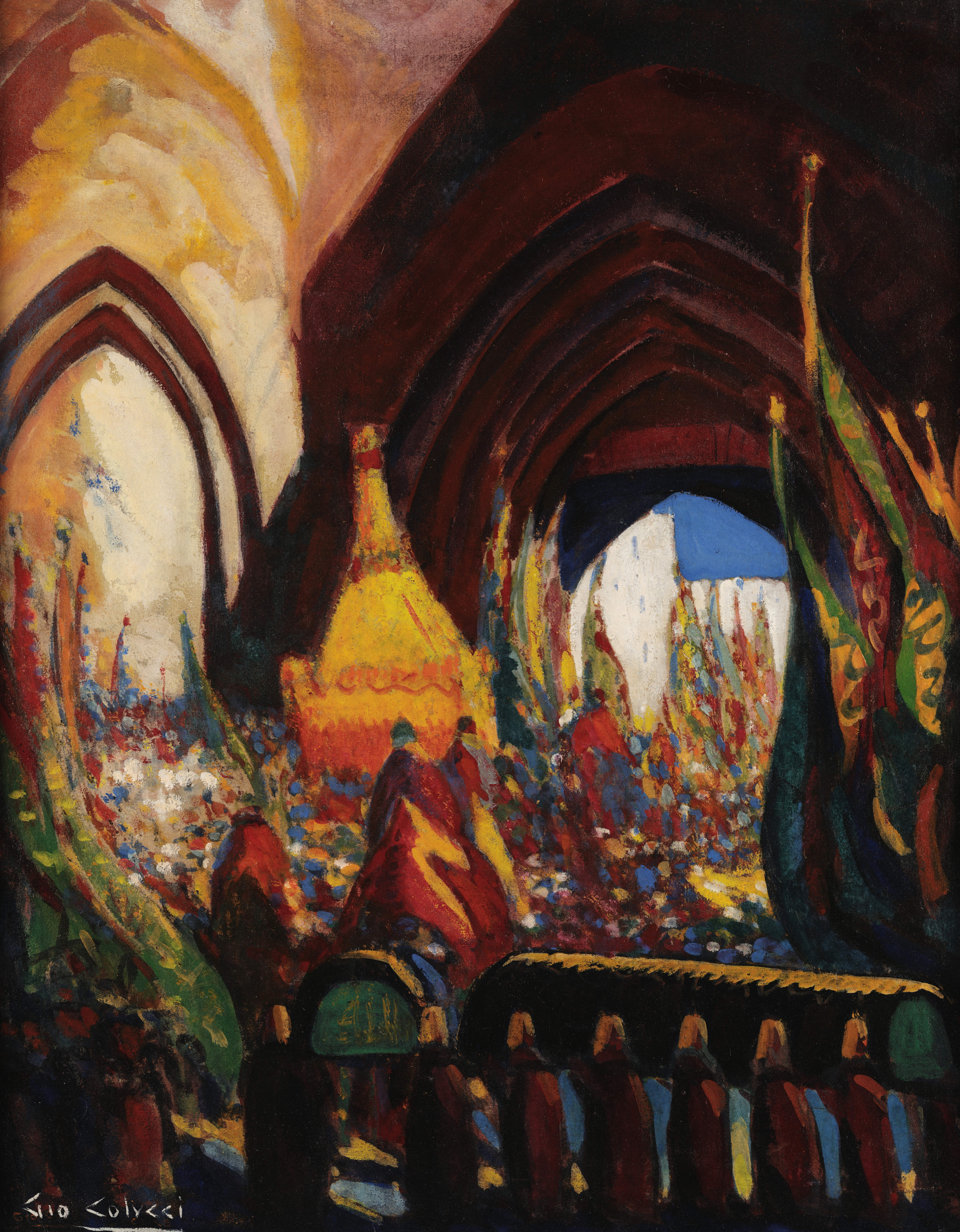 'The procession of the mahmal' by Gio Colucci