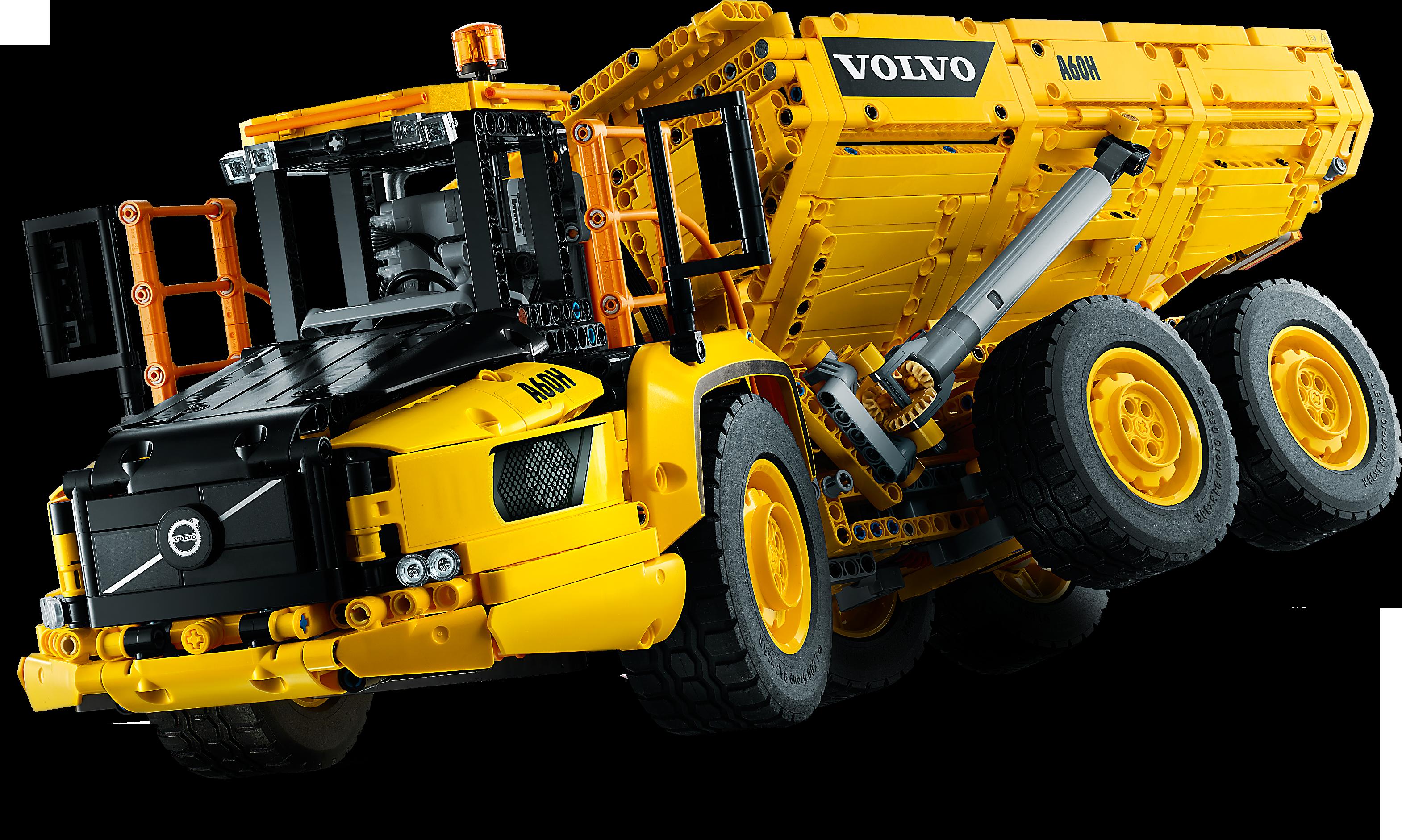 6x6 Volvo Articulated Hauler