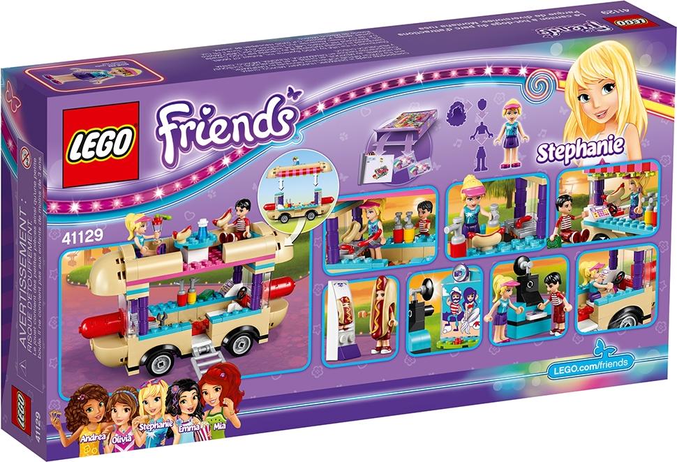 Amusement Park Hot Dog Van
