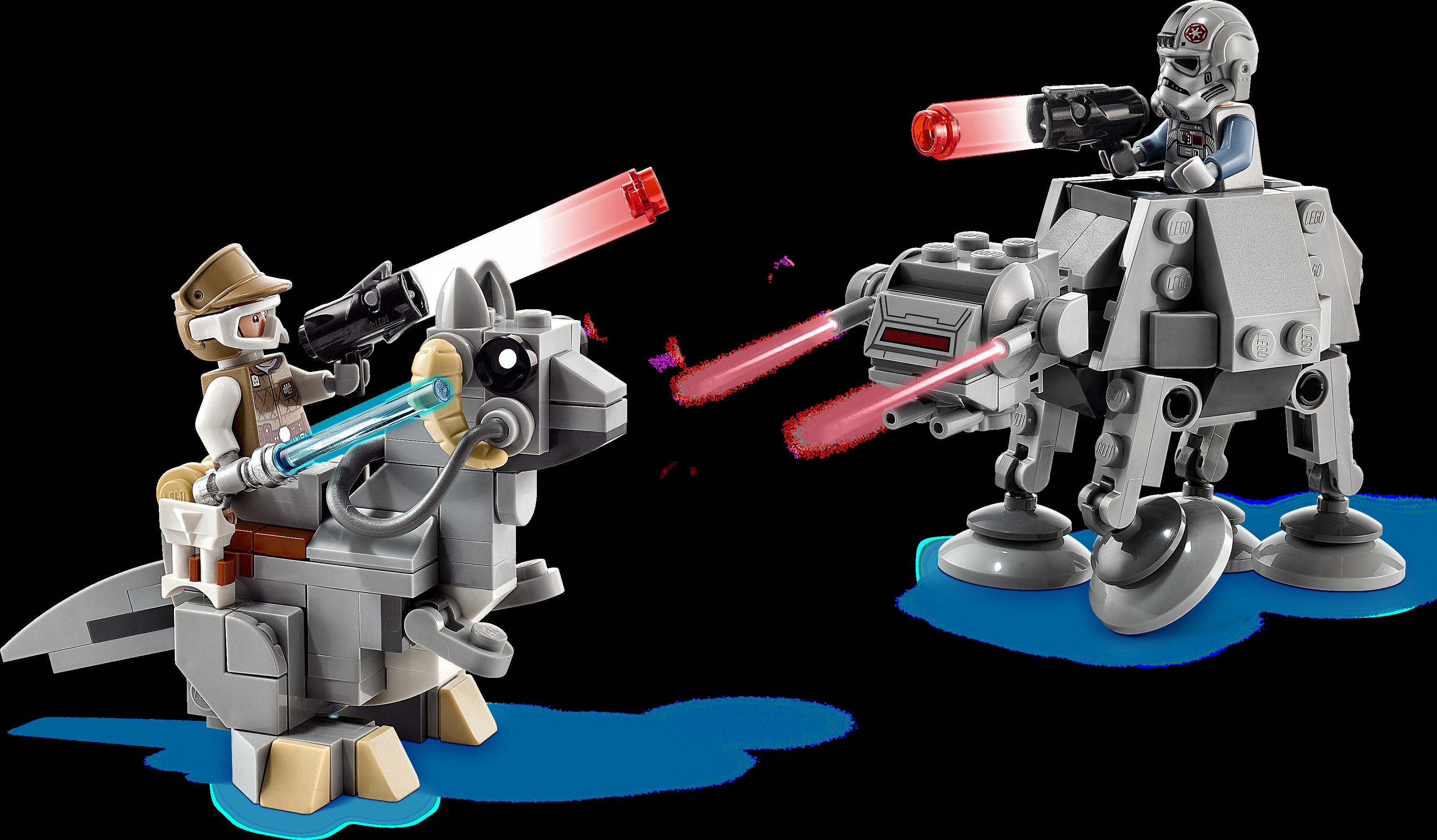 AT-AT™ vs. Tauntaun™ Microfighters