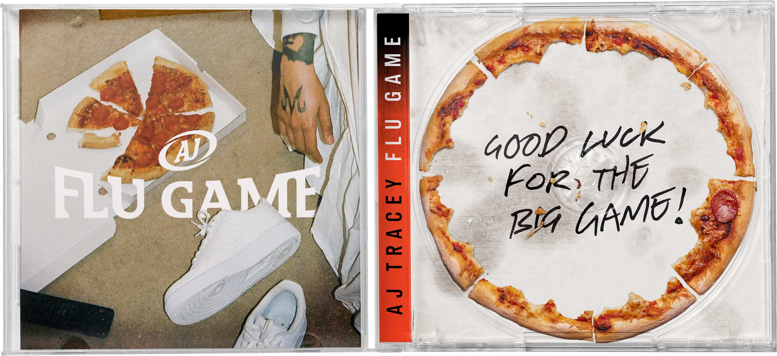Flu Game CD + T-Shirt Bundle - White