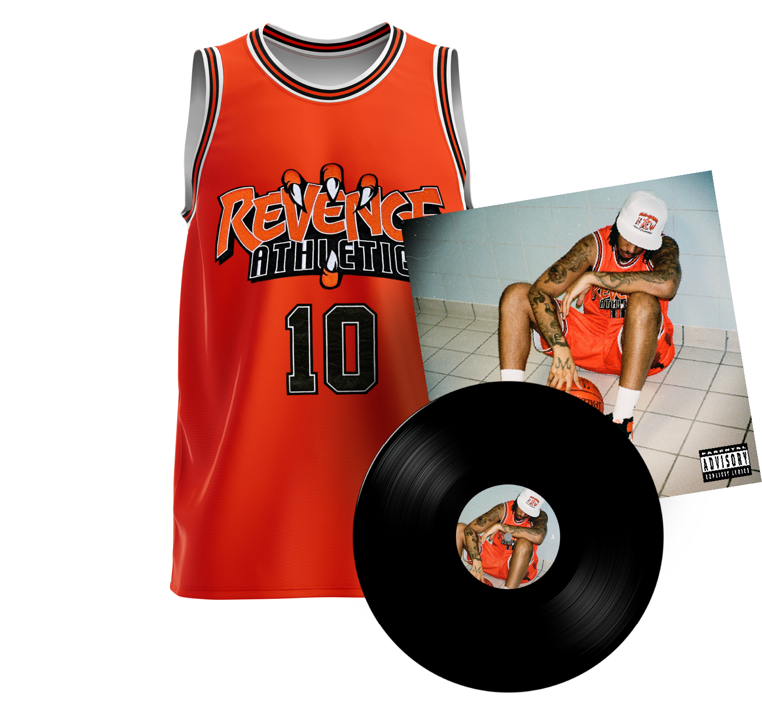 Flu Game LP + Revenge Jersey Bundle